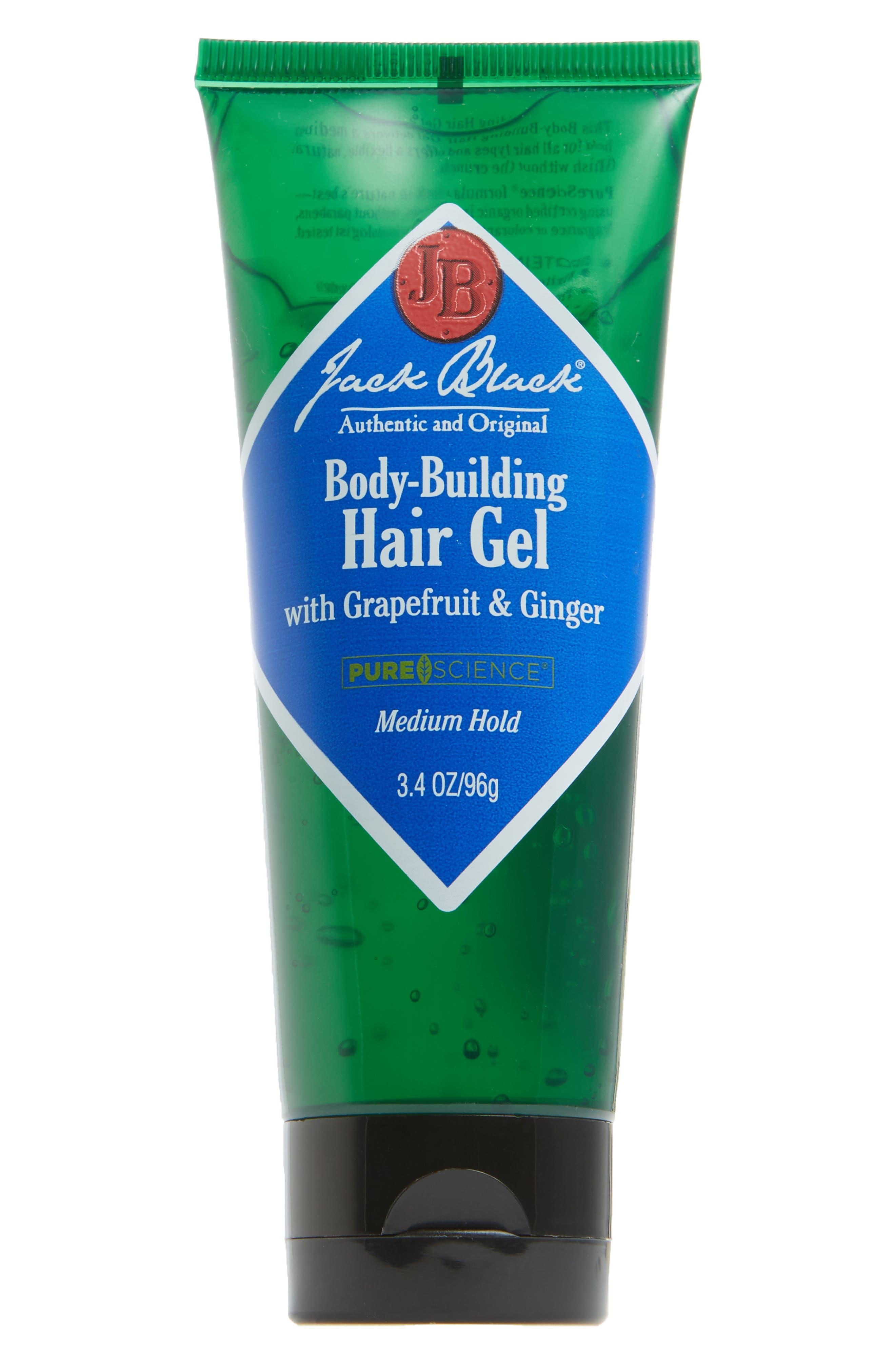 Body-Building Hair Gel,                         Main,                         color, NO COLOR