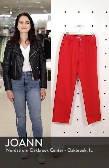 Jerry High Waist Straight Leg Jeans, sales video thumbnail