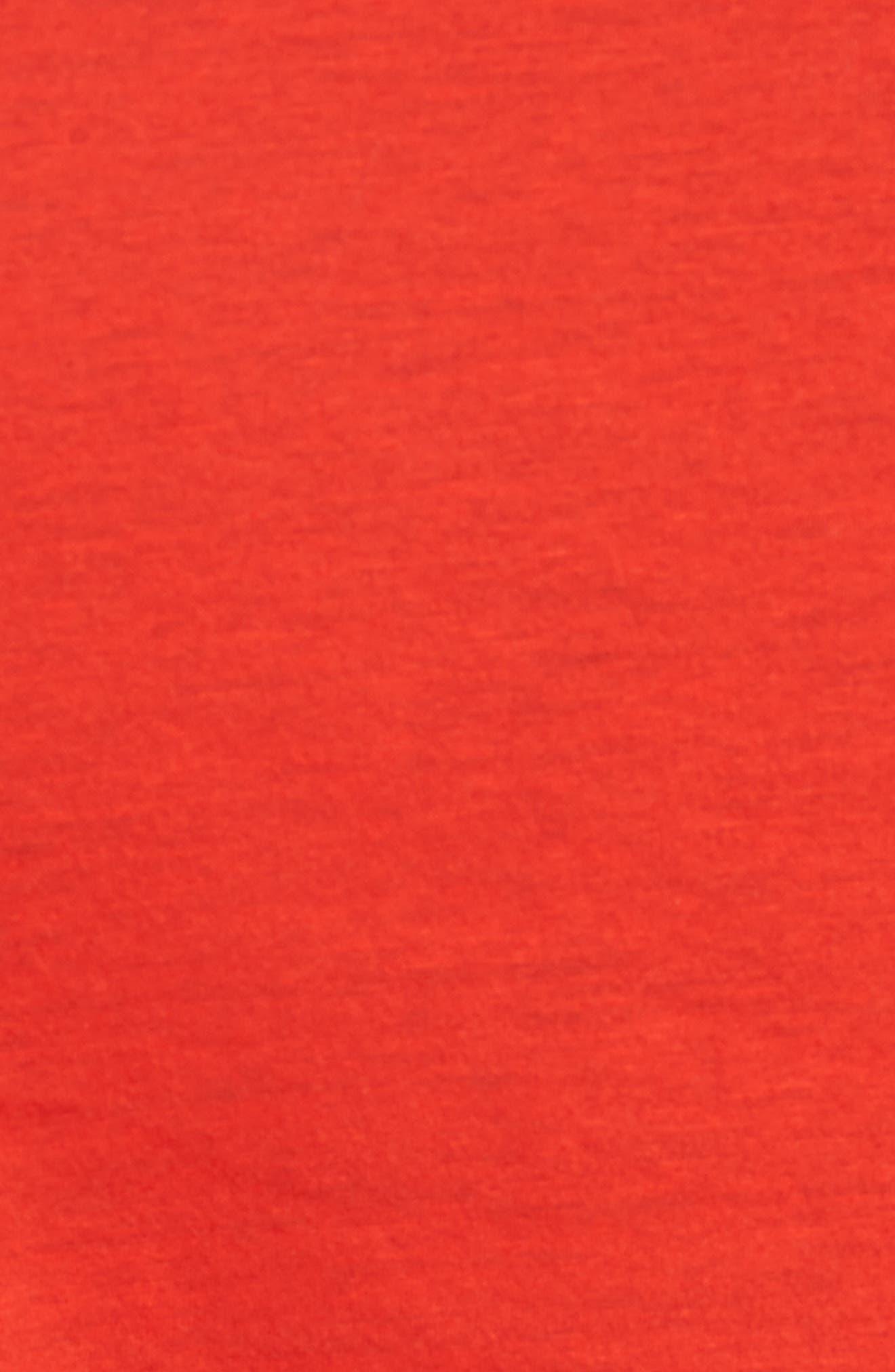 Classic Fit V-Neck T-Shirt,                             Alternate thumbnail 5, color,