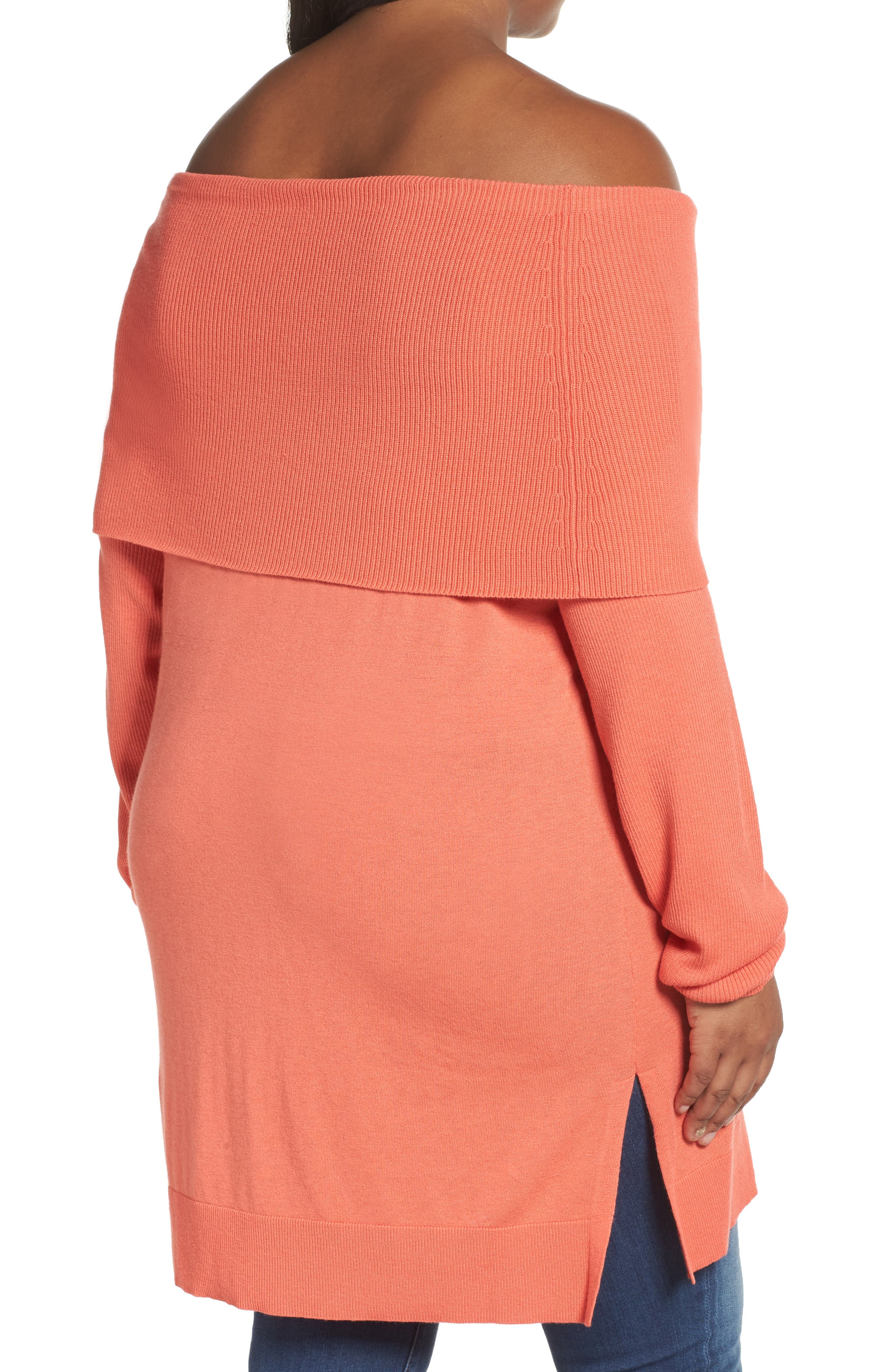 Cowl Neck Tunic Sweater,                             Alternate thumbnail 19, color,