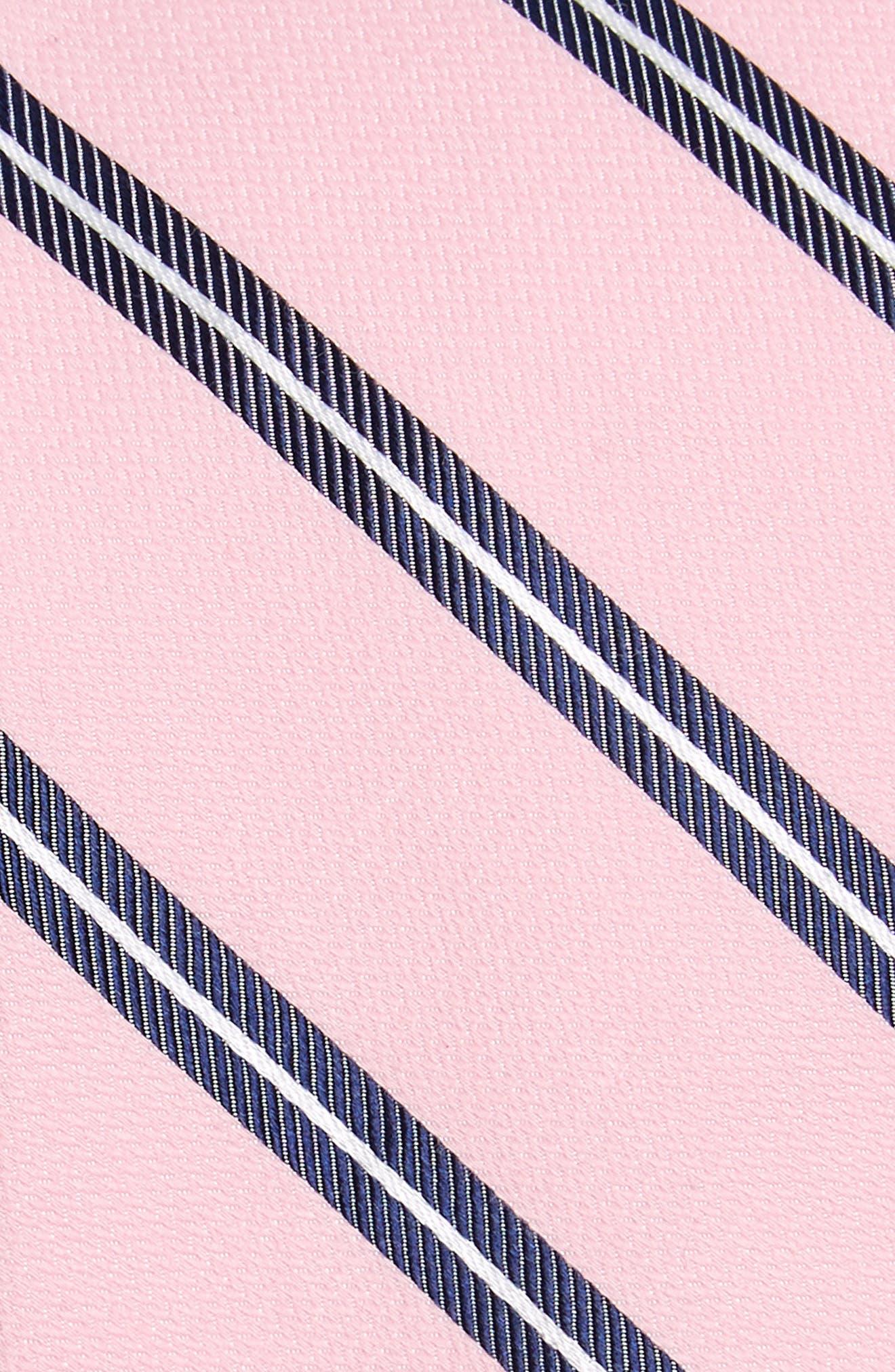 Edinger Stripe Silk & Cotton Tie,                             Alternate thumbnail 12, color,