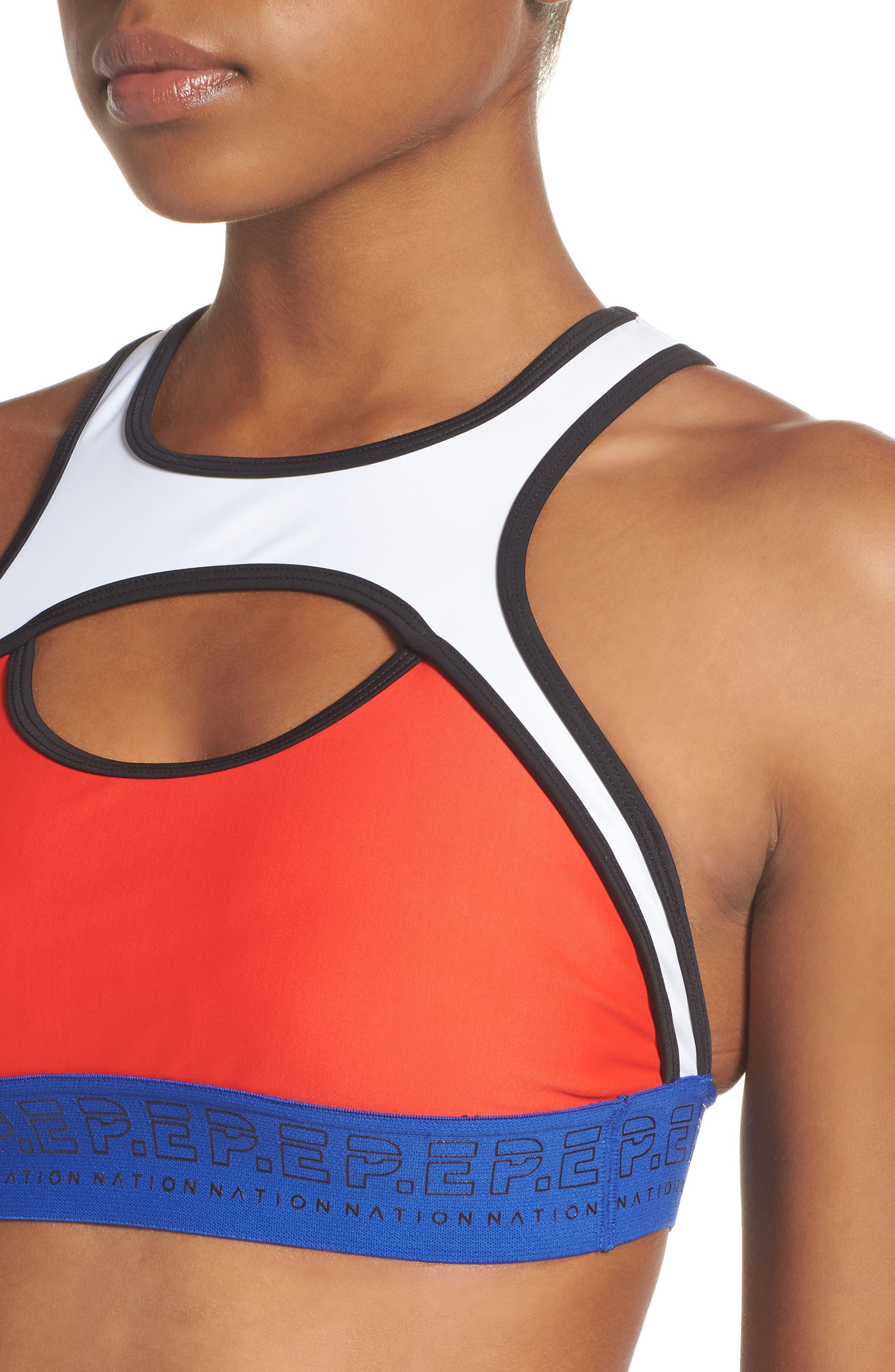 Sports Bra,                             Alternate thumbnail 4, color,                             600