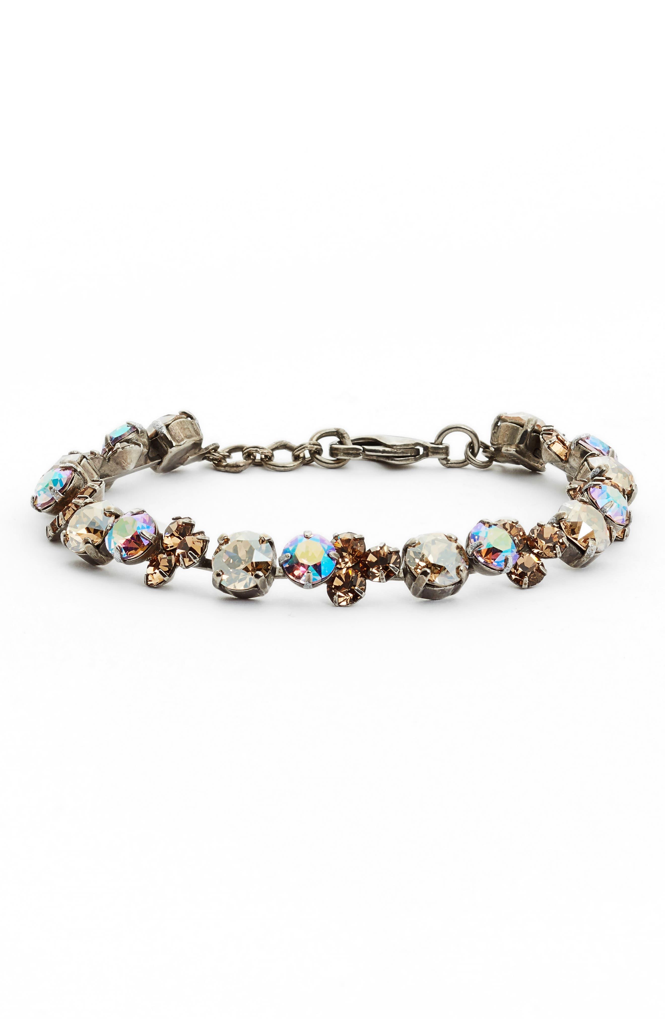 Wisteria Crystal Bracelet,                         Main,                         color,
