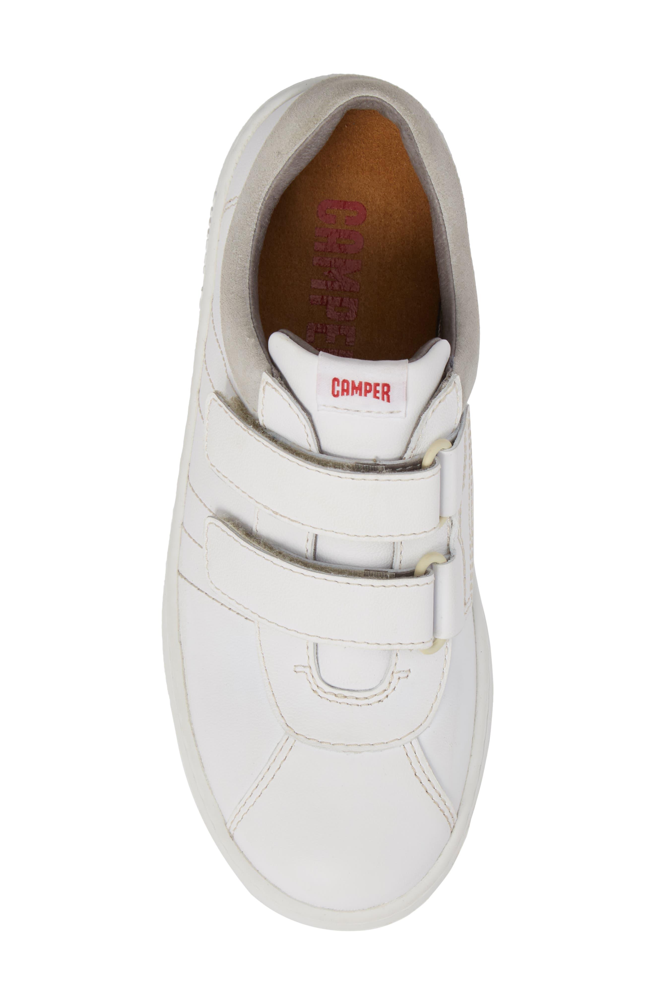 Runner Sneaker,                             Alternate thumbnail 5, color,                             WHITE