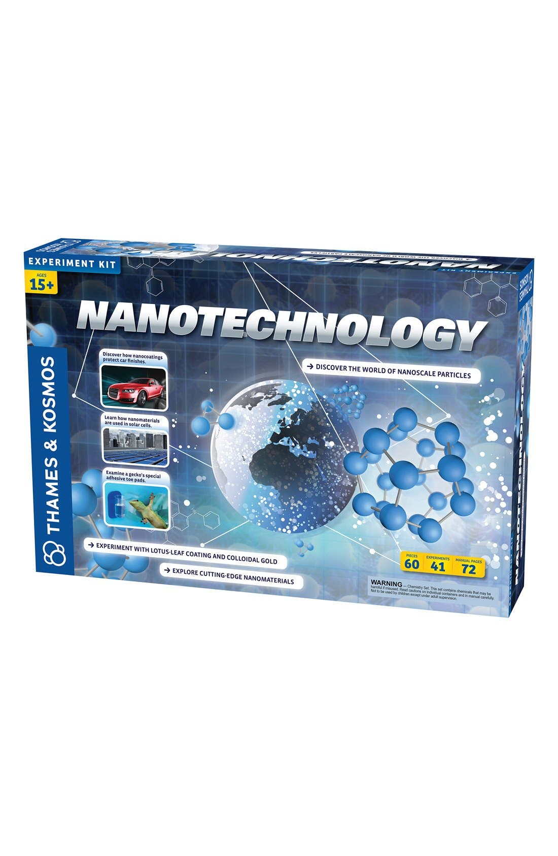 'Nanotechnology' Experiment Kit,                             Main thumbnail 1, color,                             BLUE