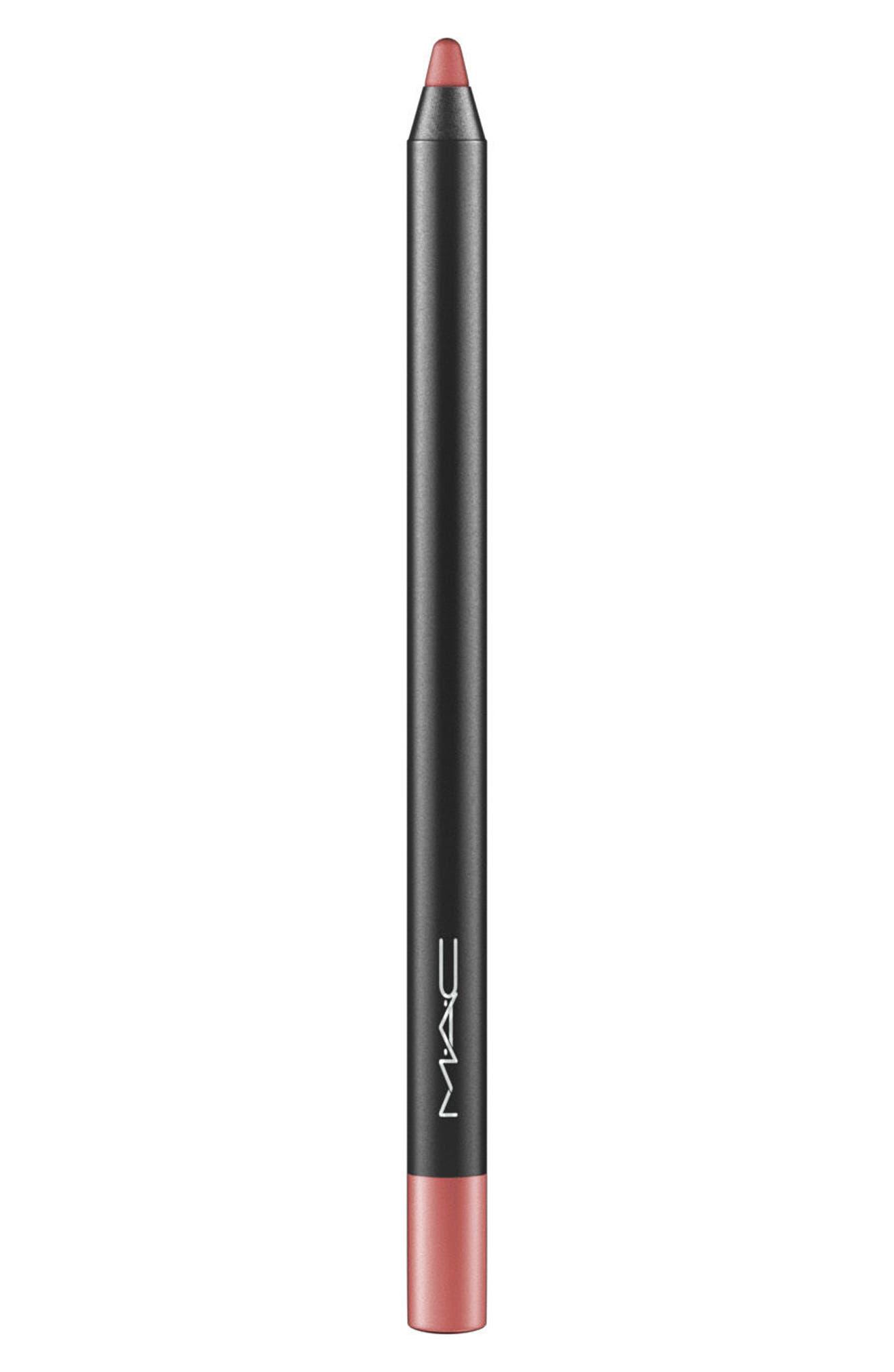 MAC Pro Longwear Lip Pencil,                         Main,                         color, STAUNCHLY STYLISH