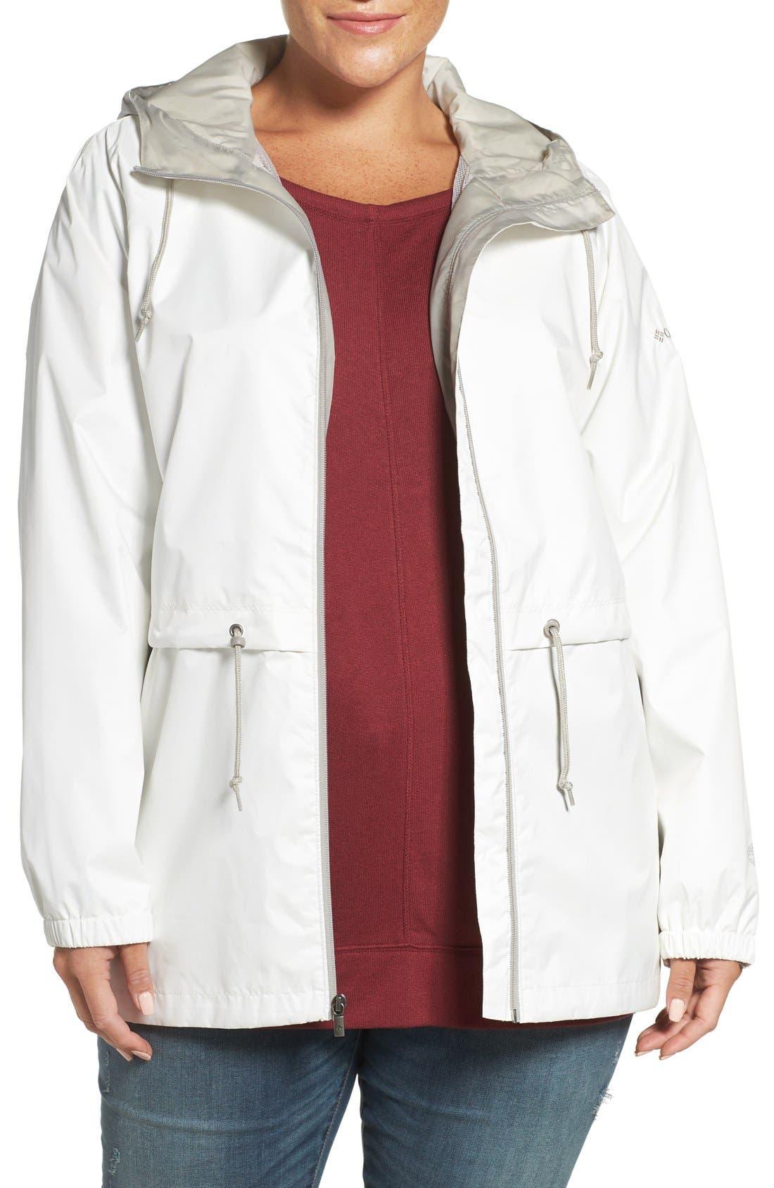 'Arcadia' Hooded Waterproof Casual Jacket,                             Main thumbnail 7, color,