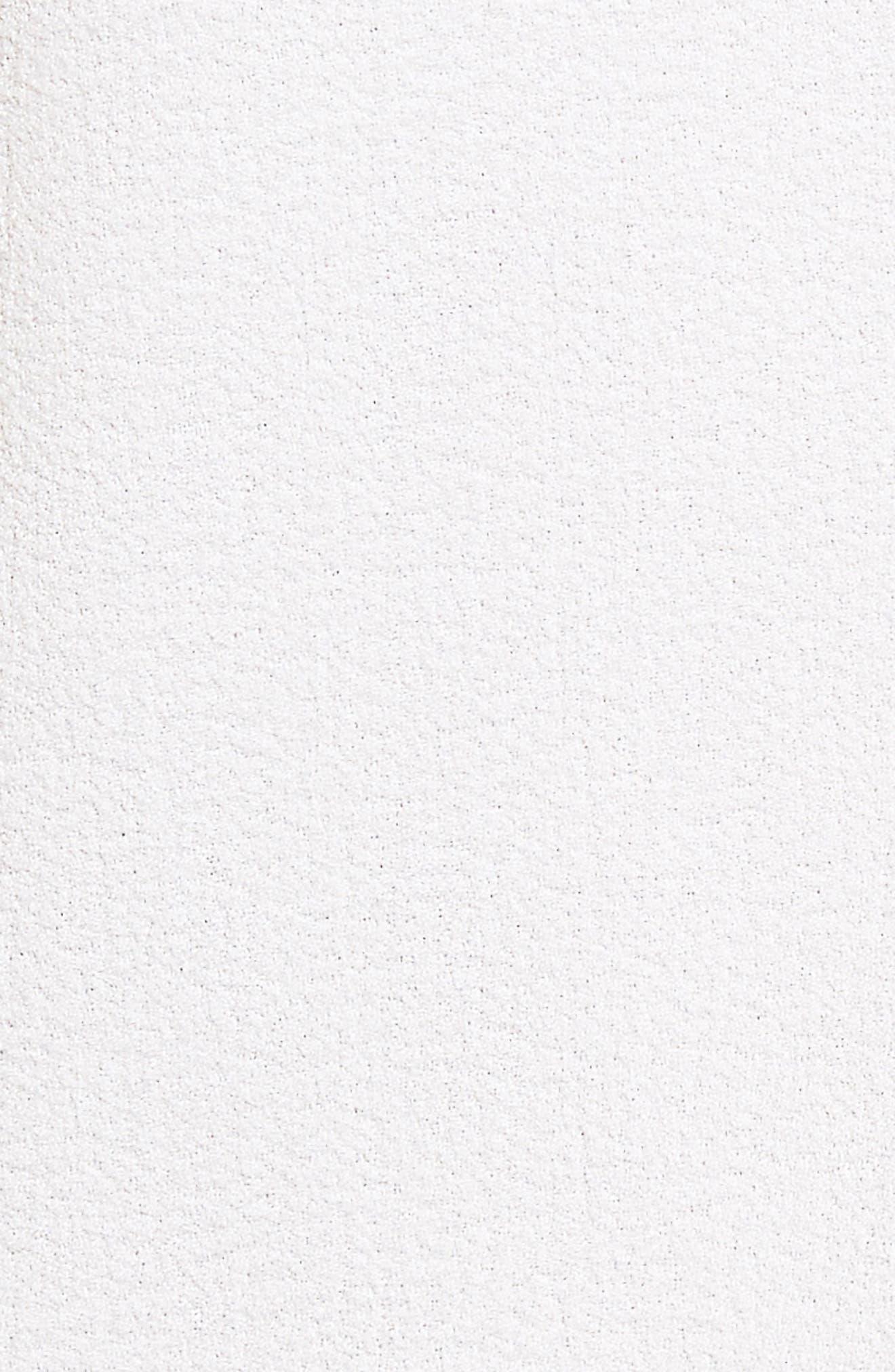 Edrina Crepe & Jersey Blouse,                             Alternate thumbnail 5, color,                             112