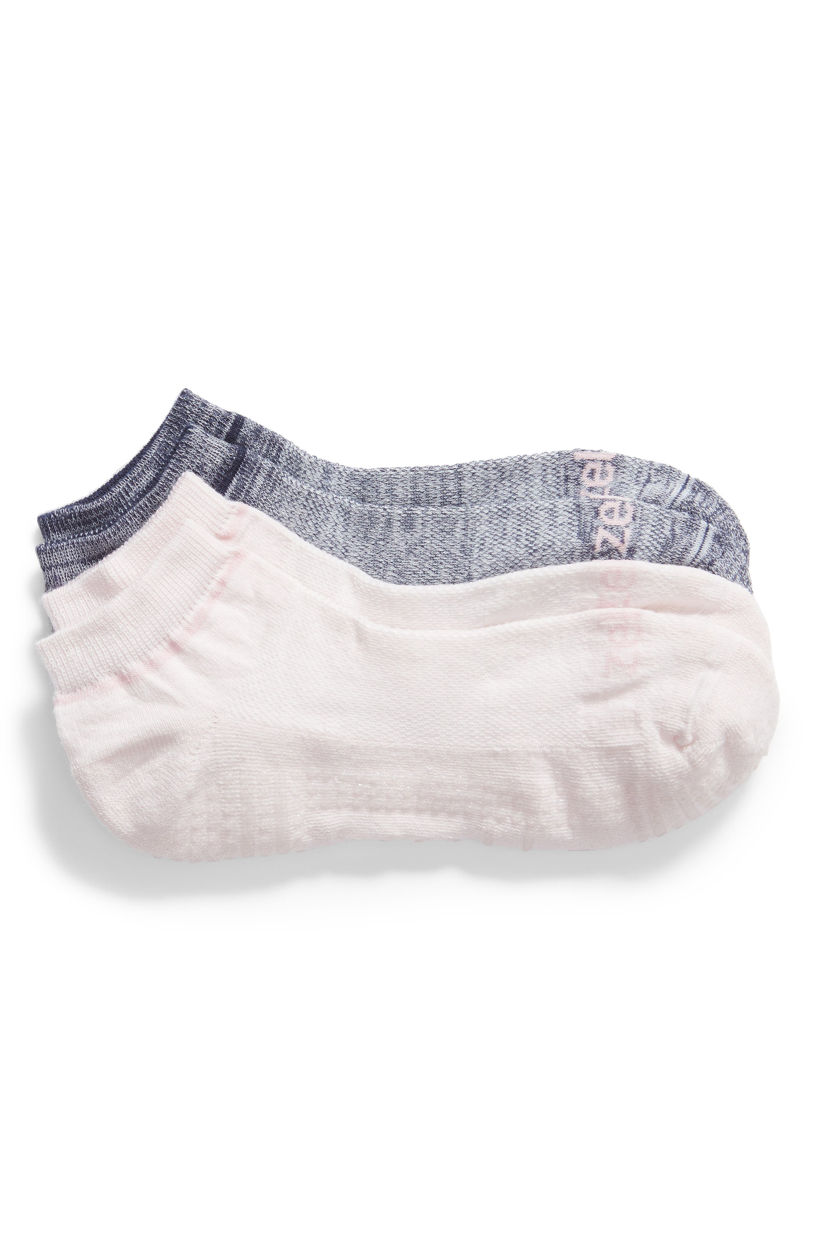 2-Pack Barre Socks,                             Main thumbnail 1, color,                             NAVY MARITIME