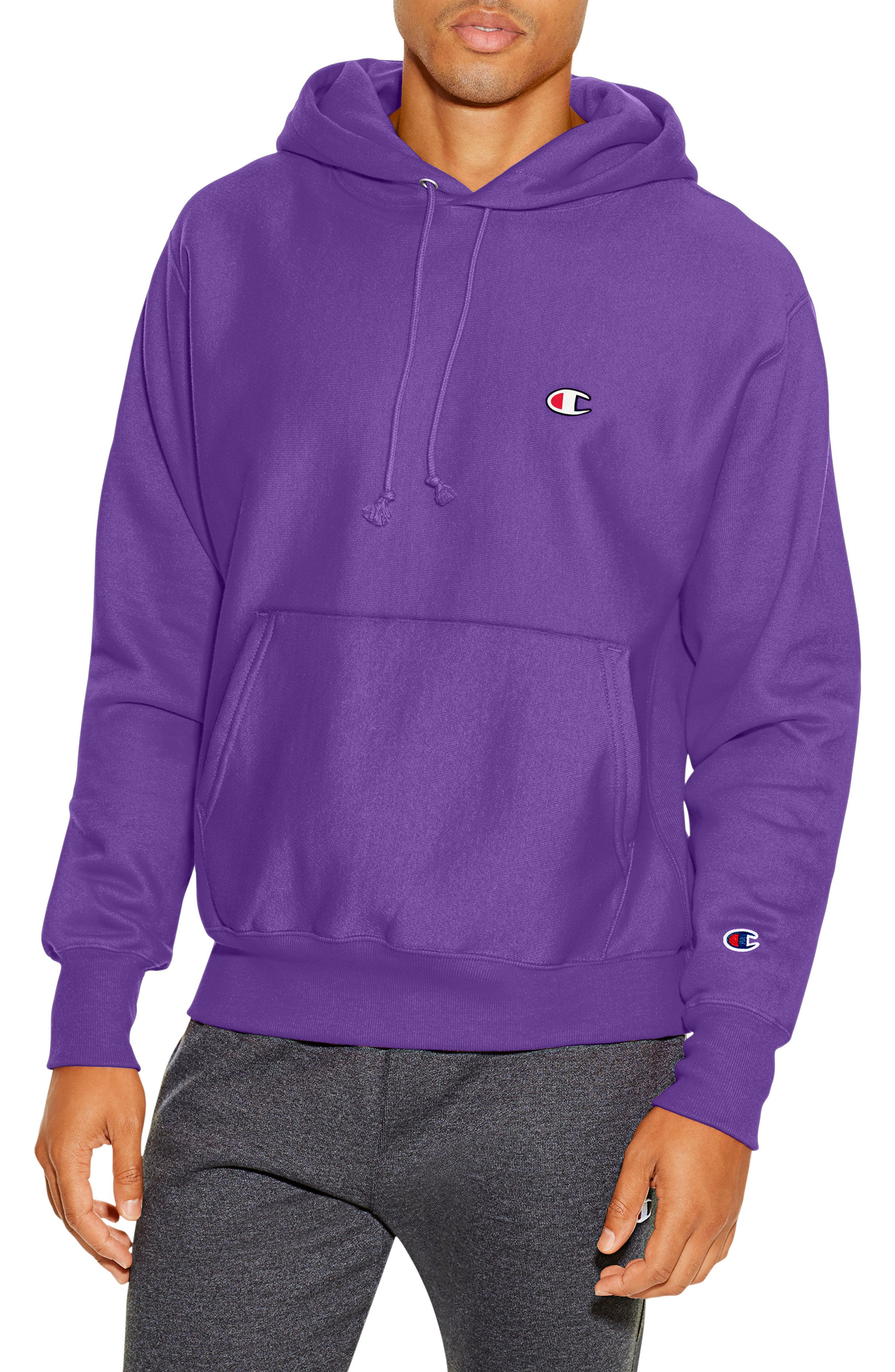 Reverse Weave<sup>®</sup> Pullover Hoodie,                             Main thumbnail 8, color,