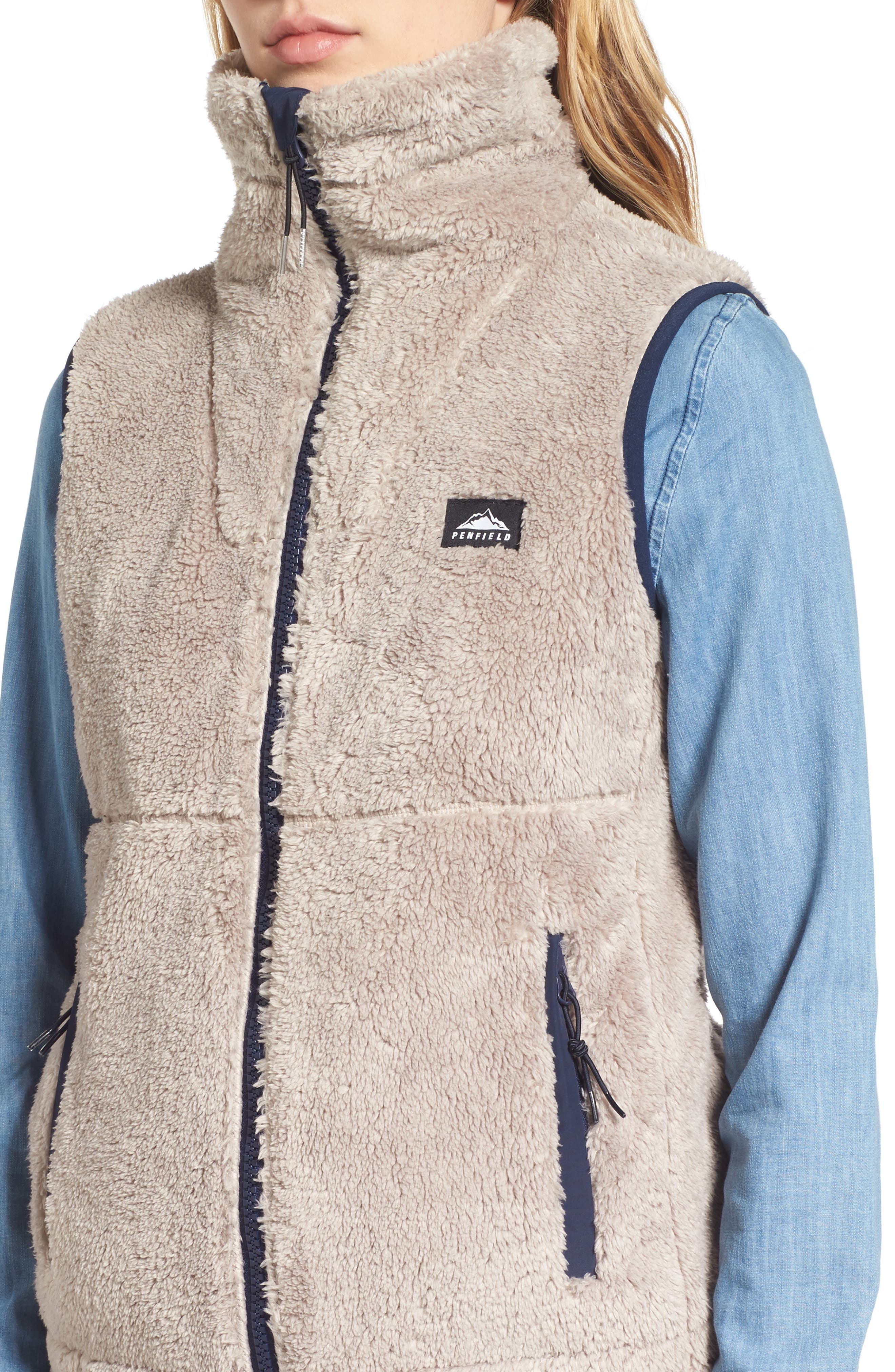 Fleece Vest,                             Alternate thumbnail 4, color,                             252