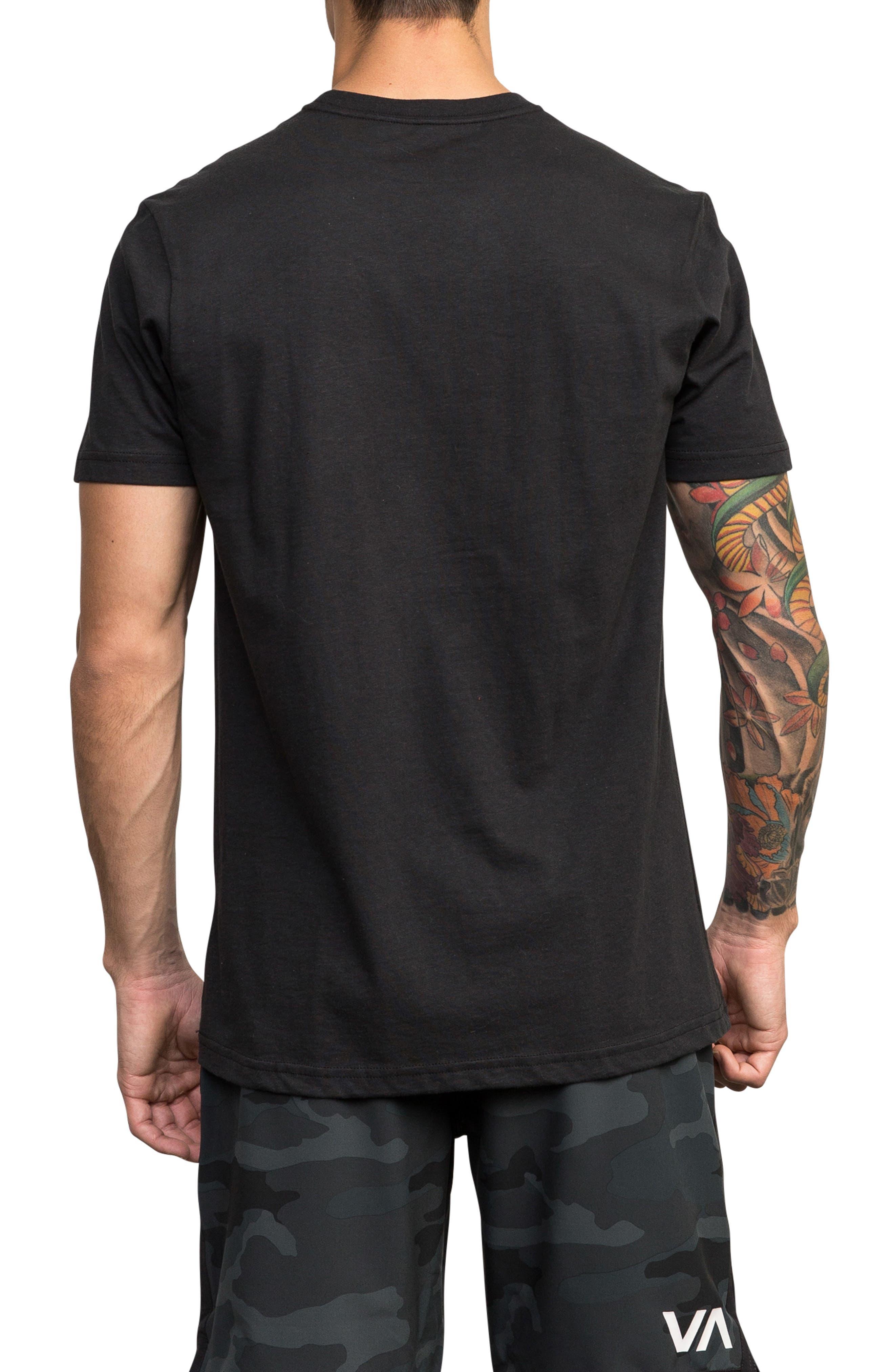Sports Bar Graphic T-Shirt,                             Alternate thumbnail 2, color,                             BLACK