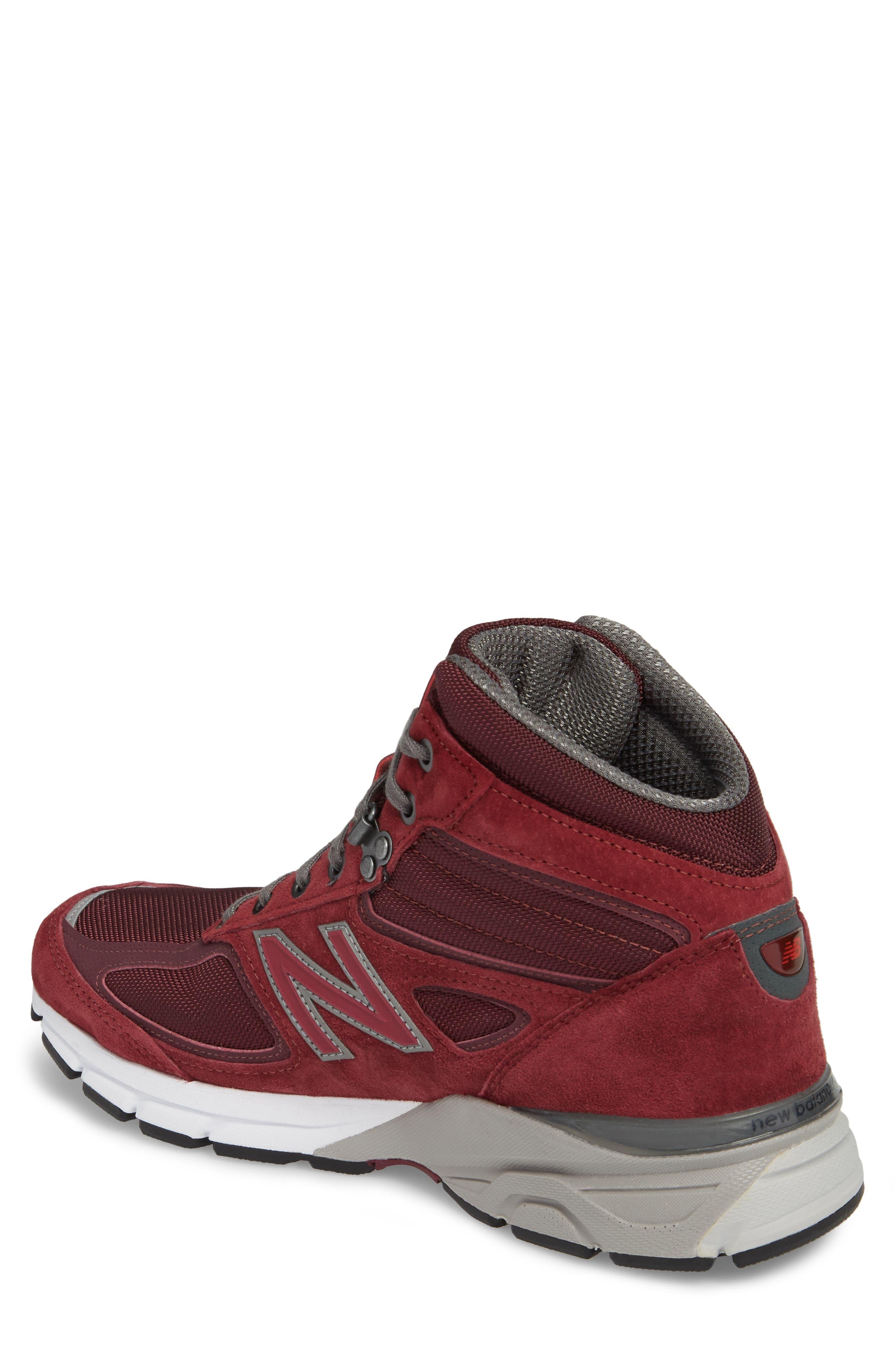 990v4 Water Resistant Sneaker Boot,                             Alternate thumbnail 2, color,                             932