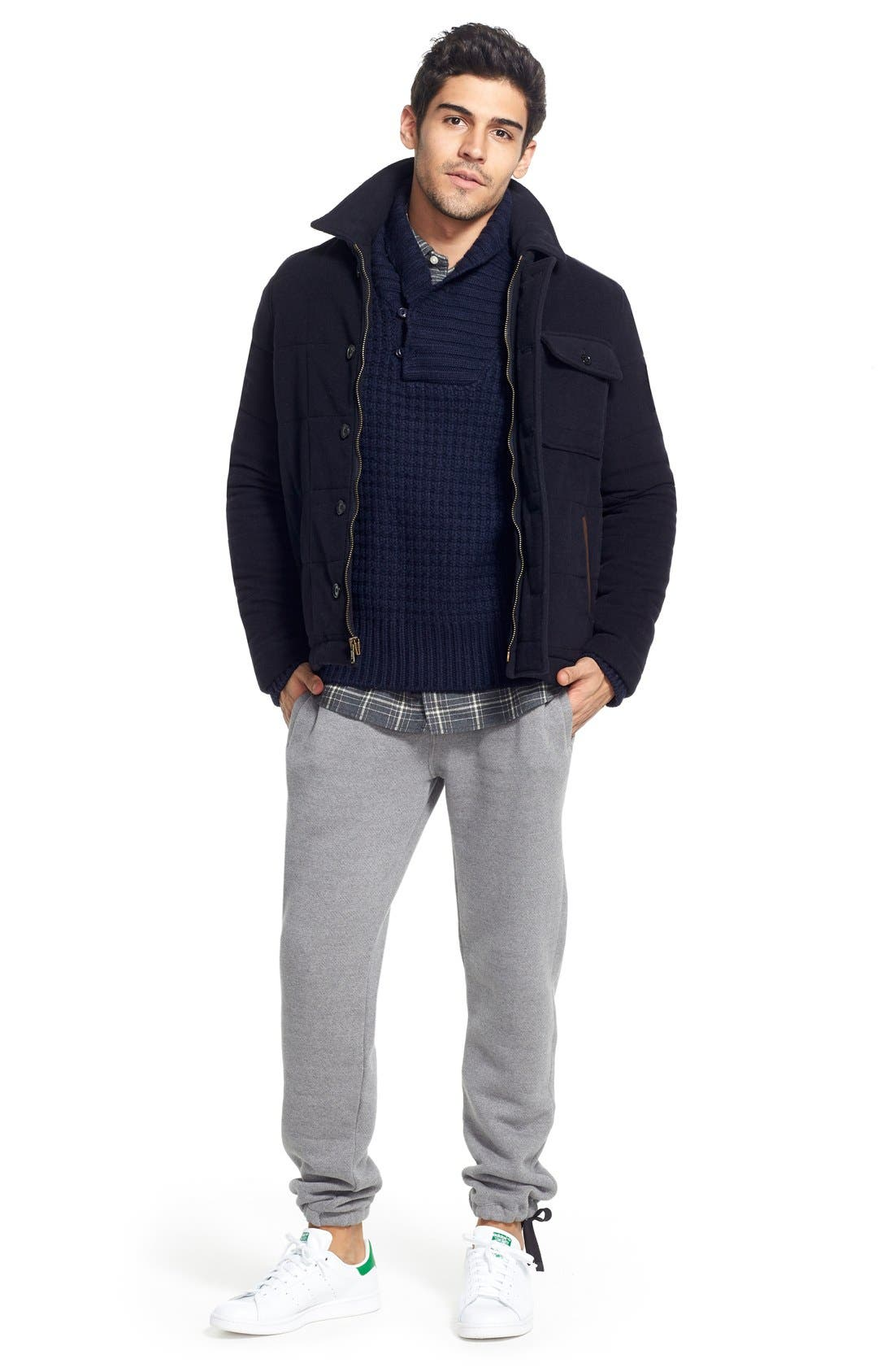 Shawl Collar Knit Pullover,                             Alternate thumbnail 18, color,