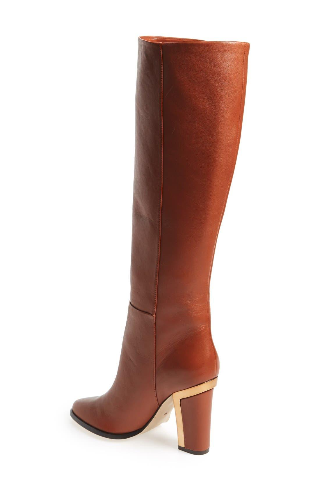 'Oak' Tall Boot,                             Alternate thumbnail 4, color,                             240