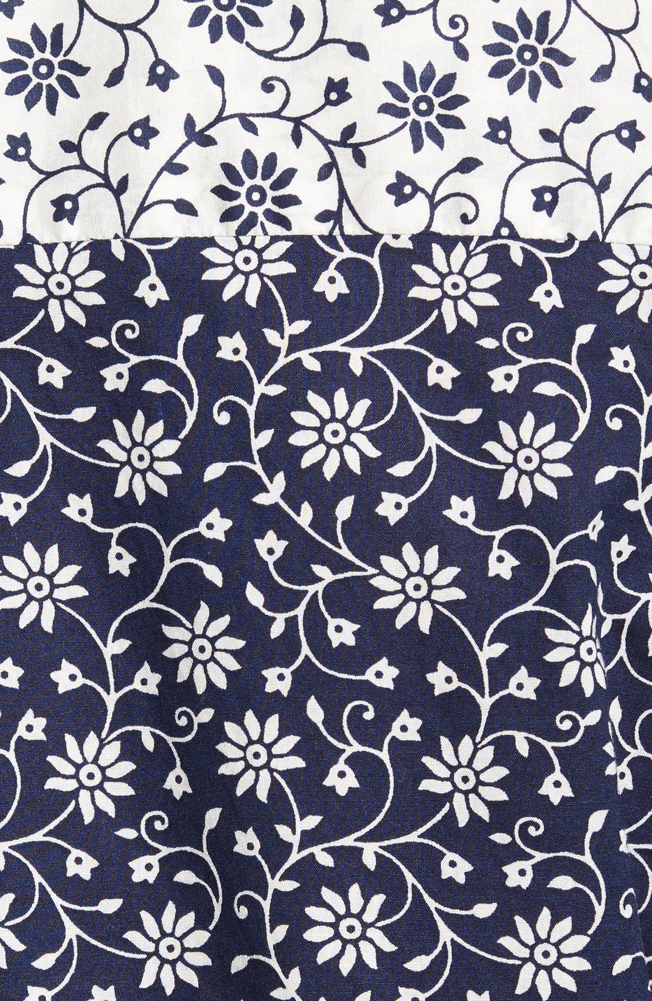 Mix & Match Print Woven Shirt,                             Alternate thumbnail 5, color,                             410