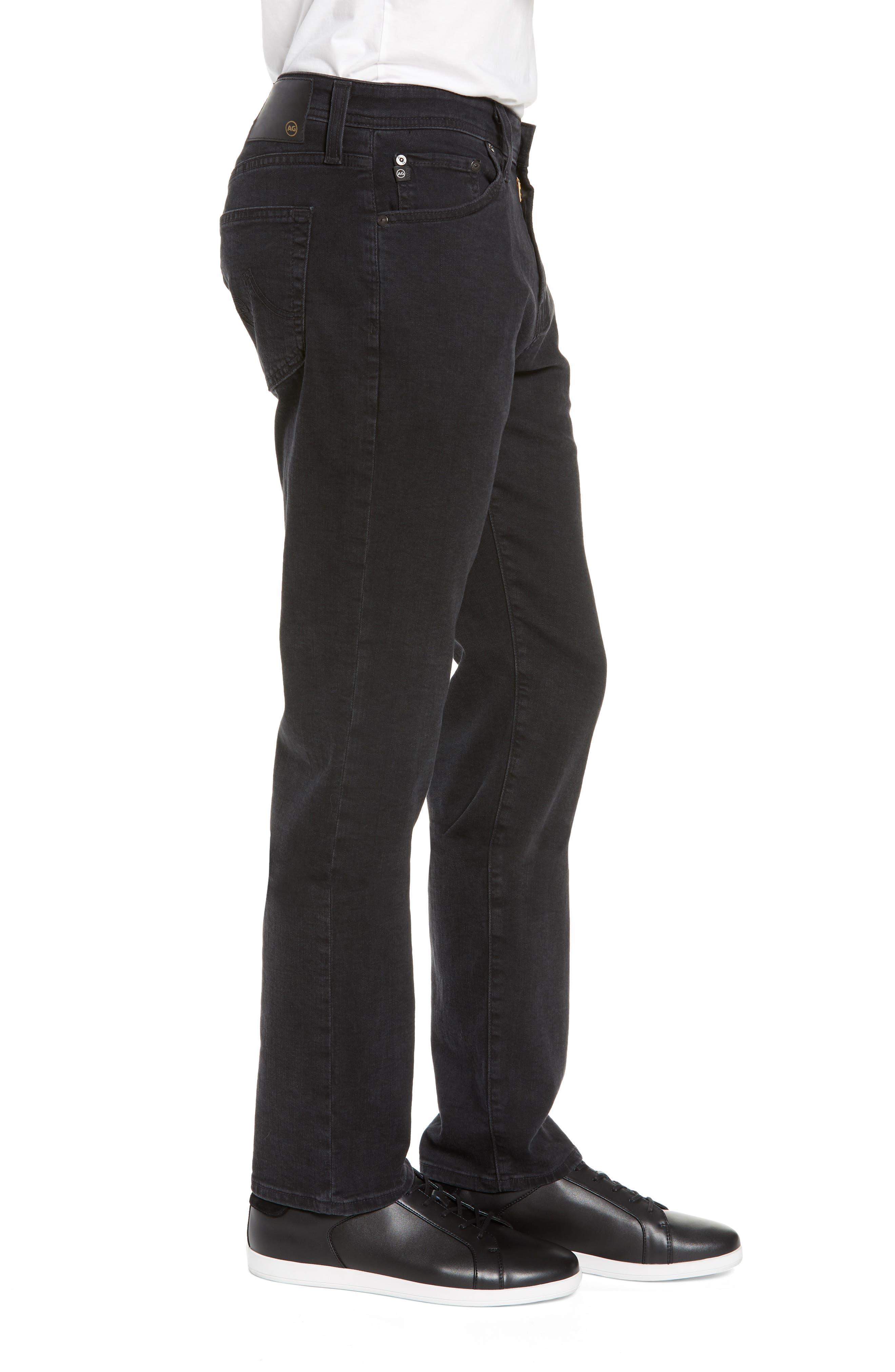 Everett Slim Straight Leg Jeans,                             Alternate thumbnail 3, color,                             BRIMSTONE