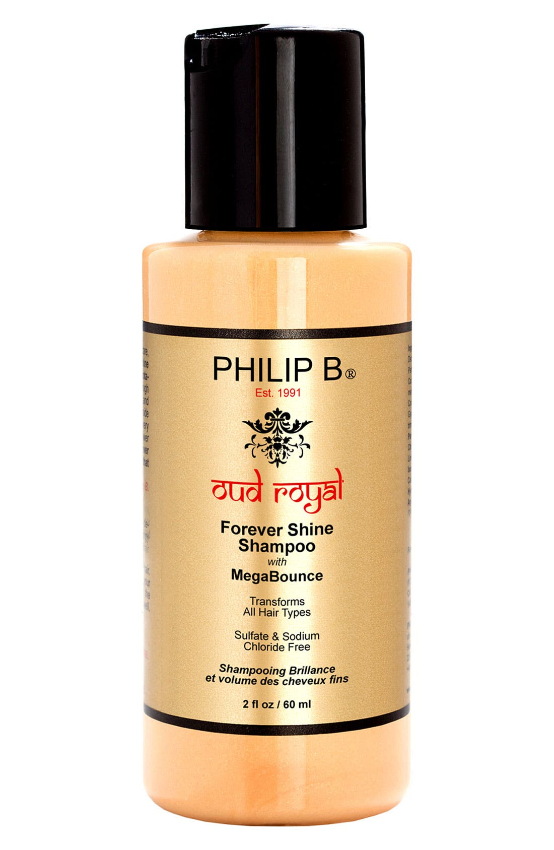 SPACE.NK.apothecary PHILIP B<sup>®</sup> Oud Royal Forever Shine Shampoo,                             Alternate thumbnail 2, color,                             NO COLOR