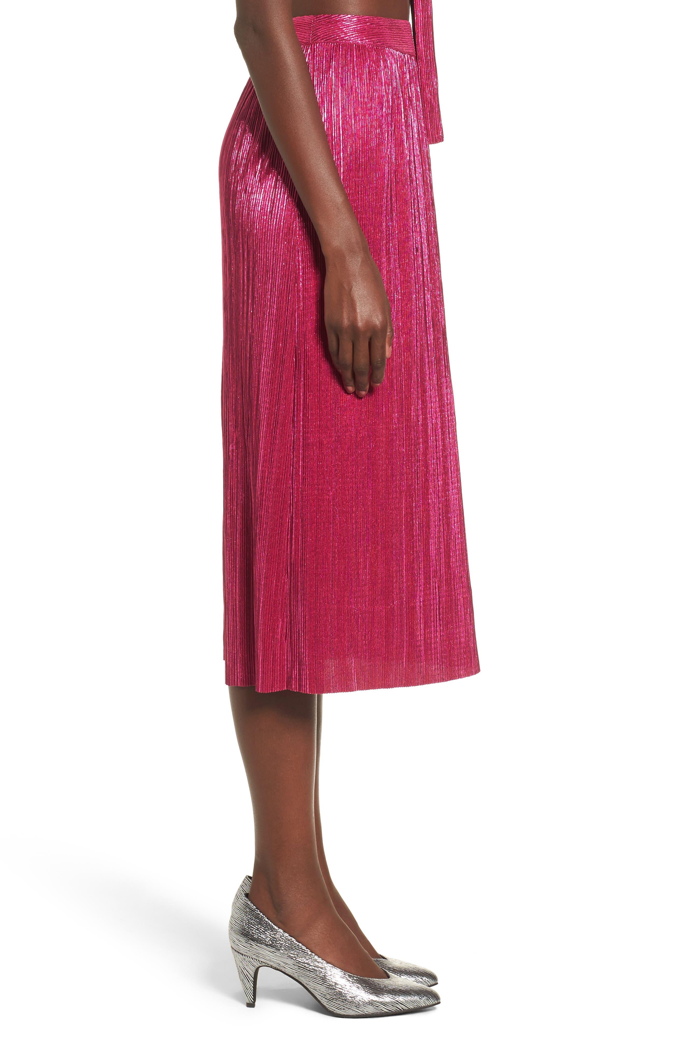 Marion Midi Skirt,                             Alternate thumbnail 3, color,                             650