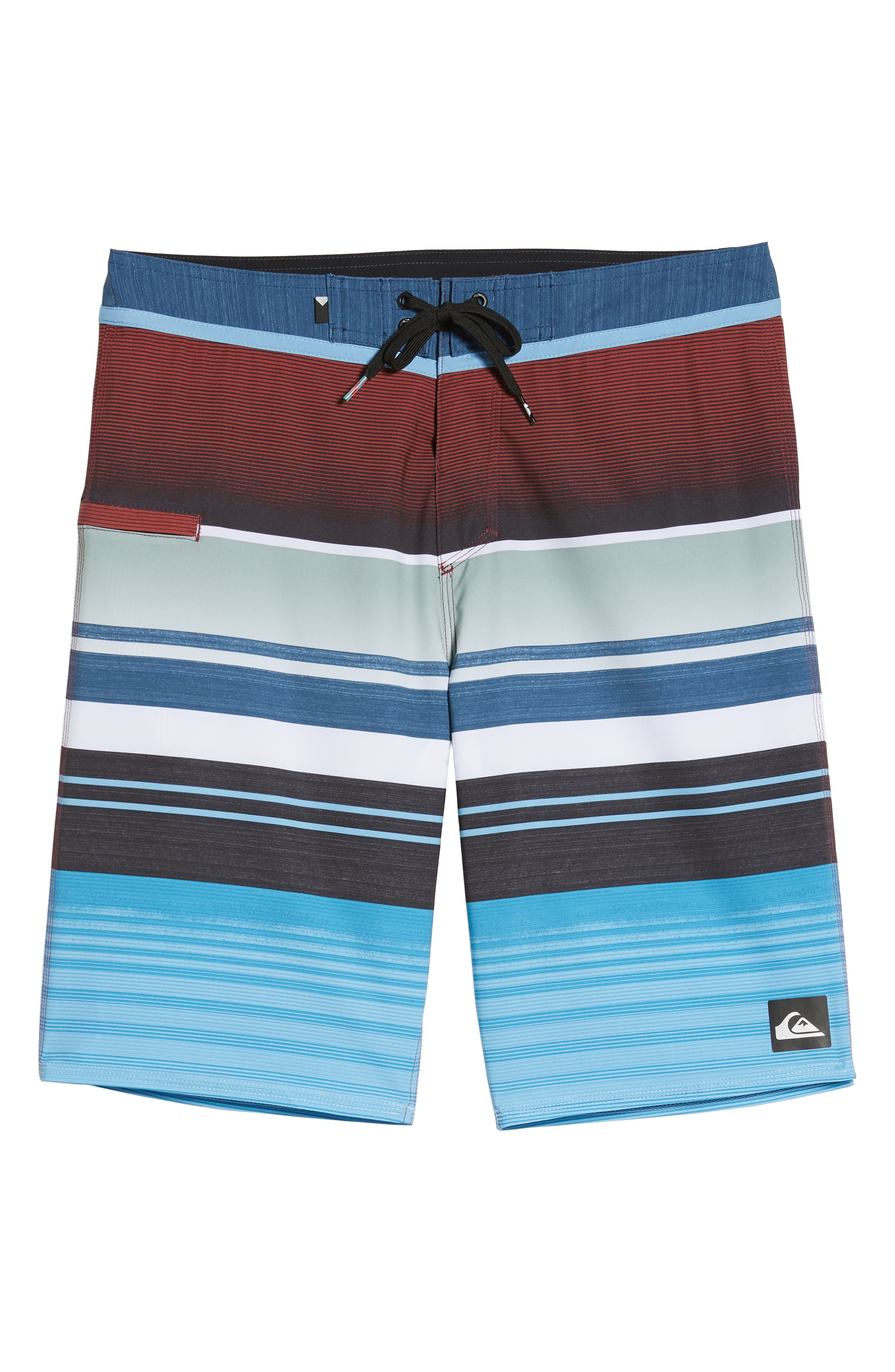 Everyday Stripe Board Shorts,                             Alternate thumbnail 6, color,                             401