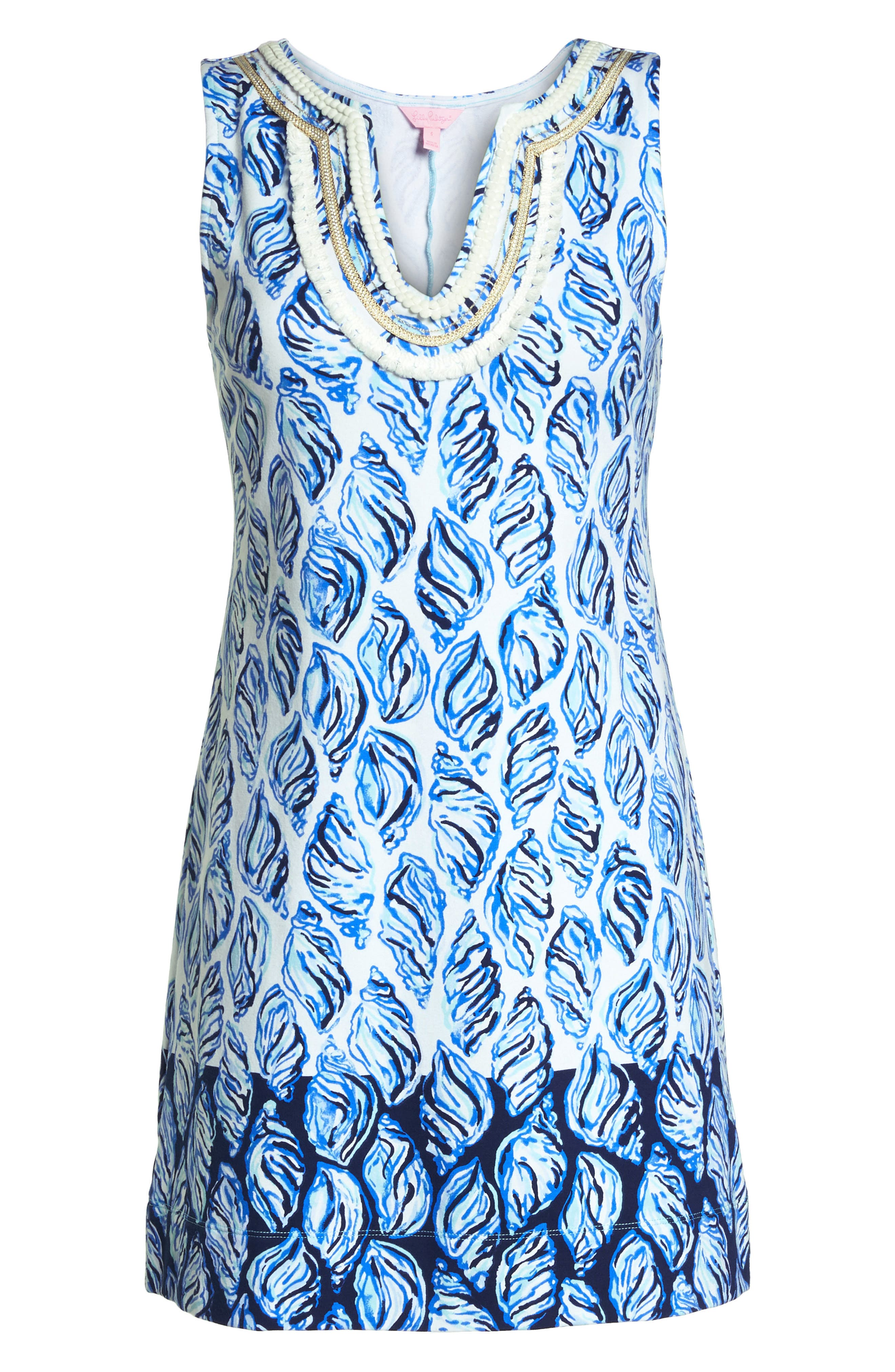 LILLY PULITZER<SUP>®</SUP>,                             Harper Shift Dress,                             Alternate thumbnail 7, color,                             100