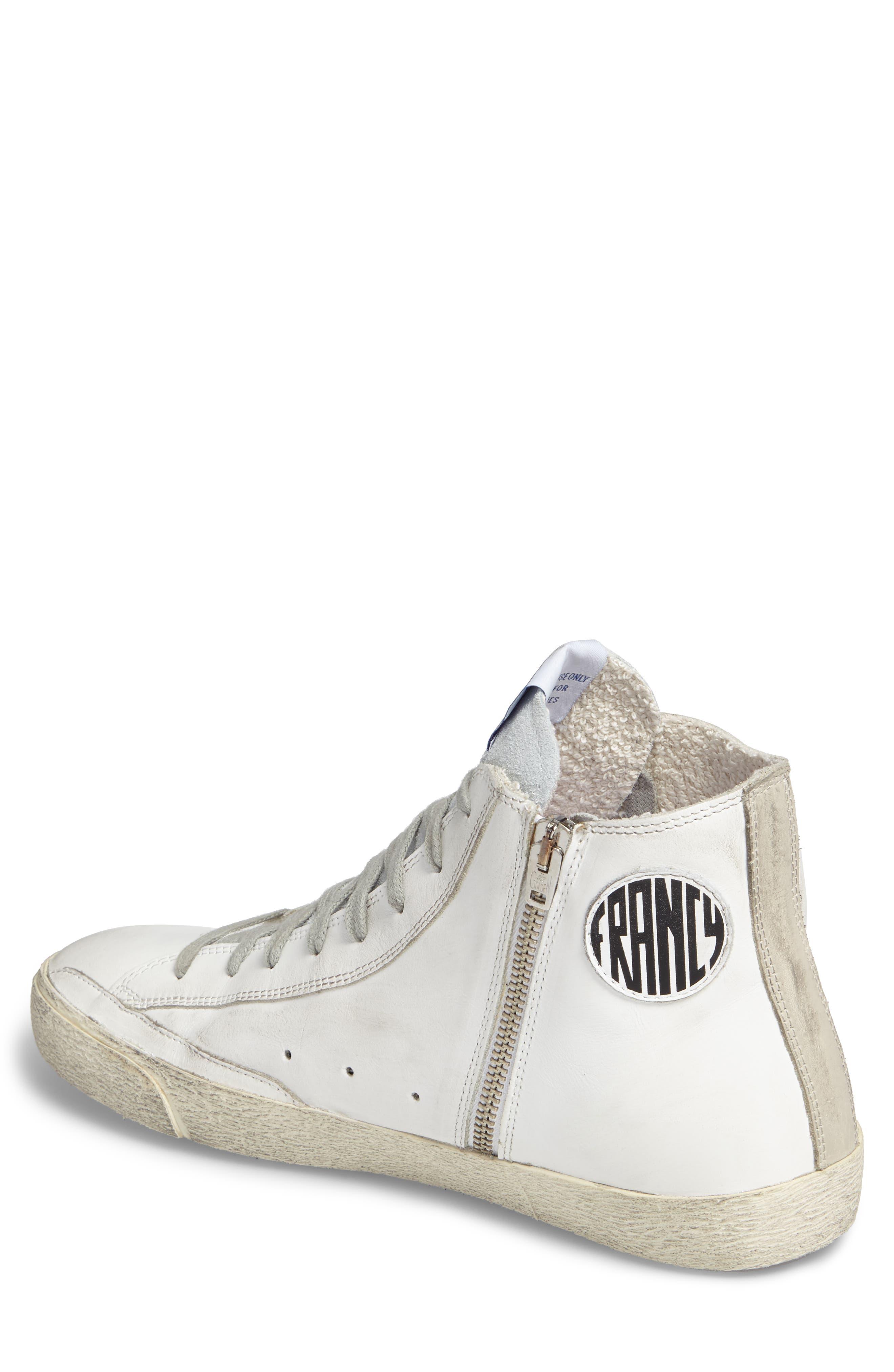 Francy High Top Sneaker,                             Alternate thumbnail 2, color,                             100