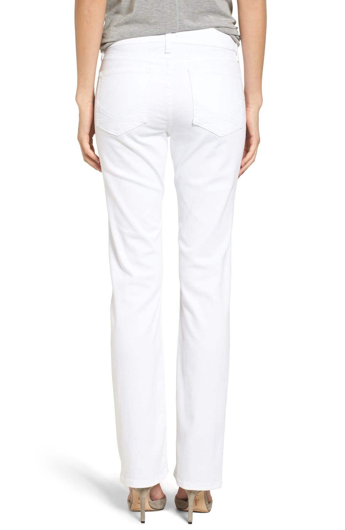 Marilyn Stretch Straight Leg Jeans,                             Alternate thumbnail 3, color,                             103