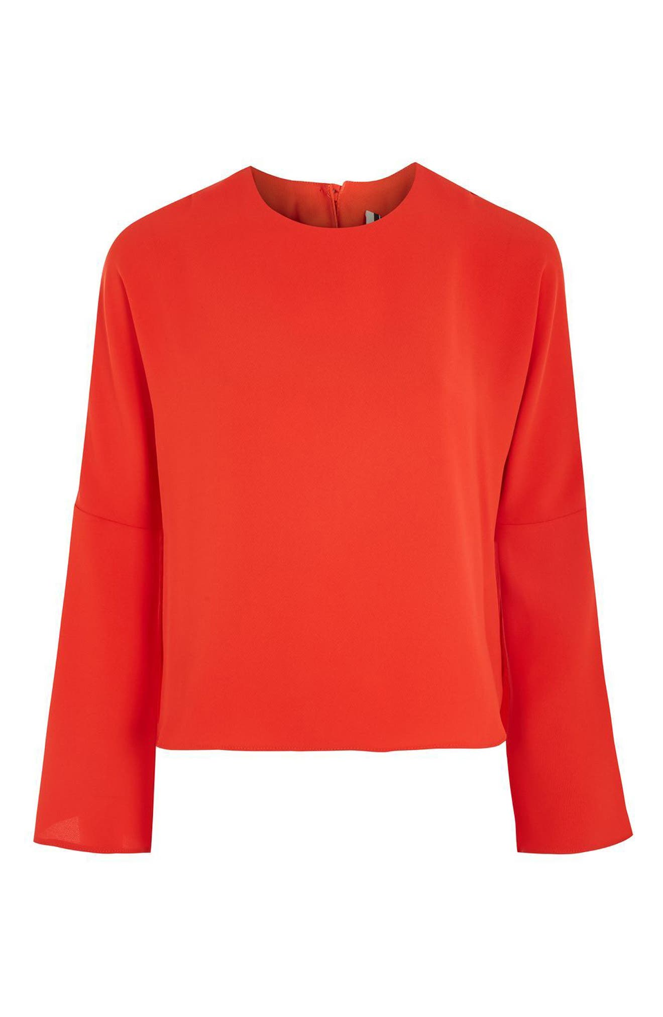 Split Sleeve Top,                             Alternate thumbnail 10, color,