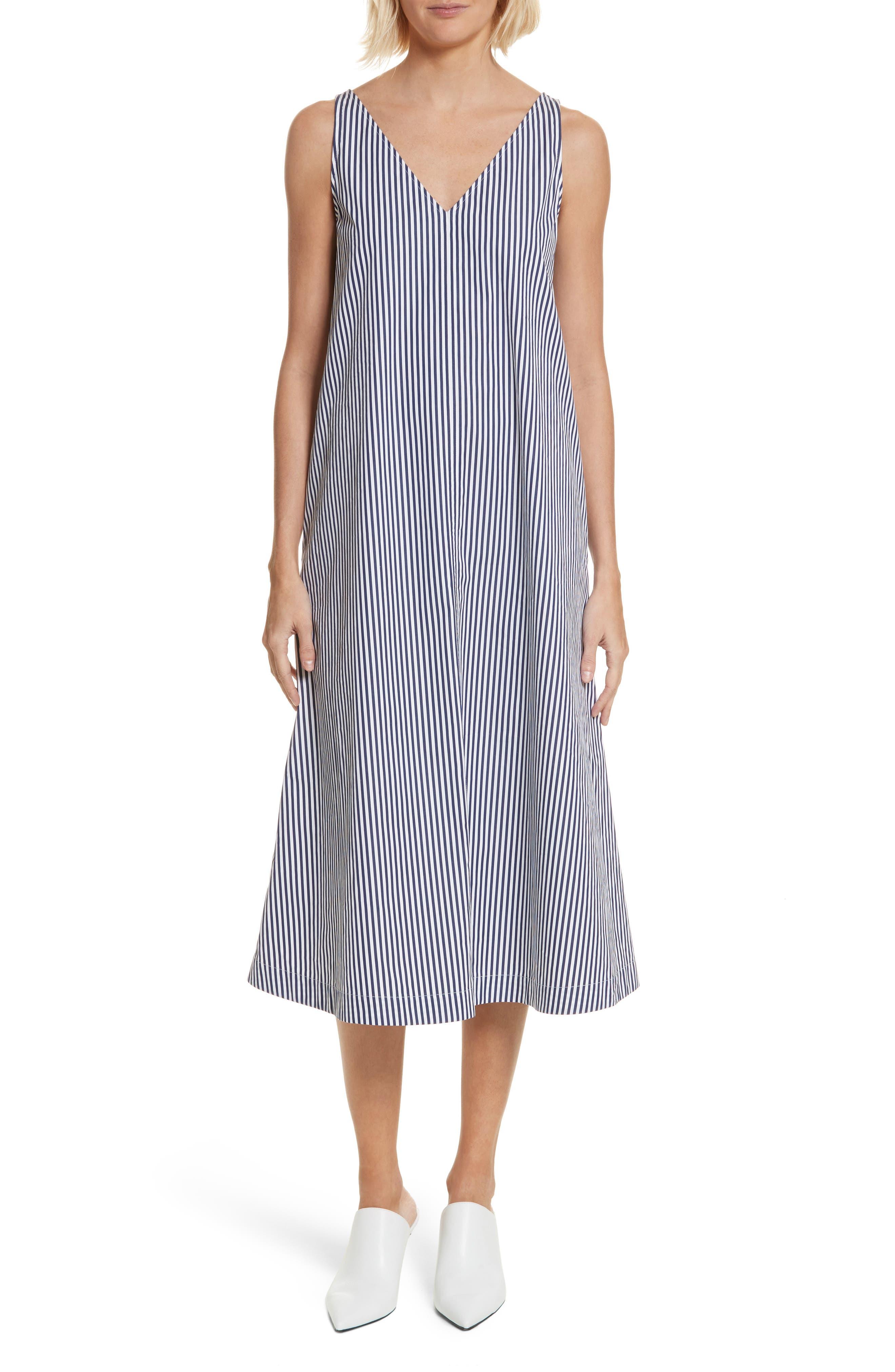 Davey Candy Stripe Shift Dress,                         Main,                         color, 456