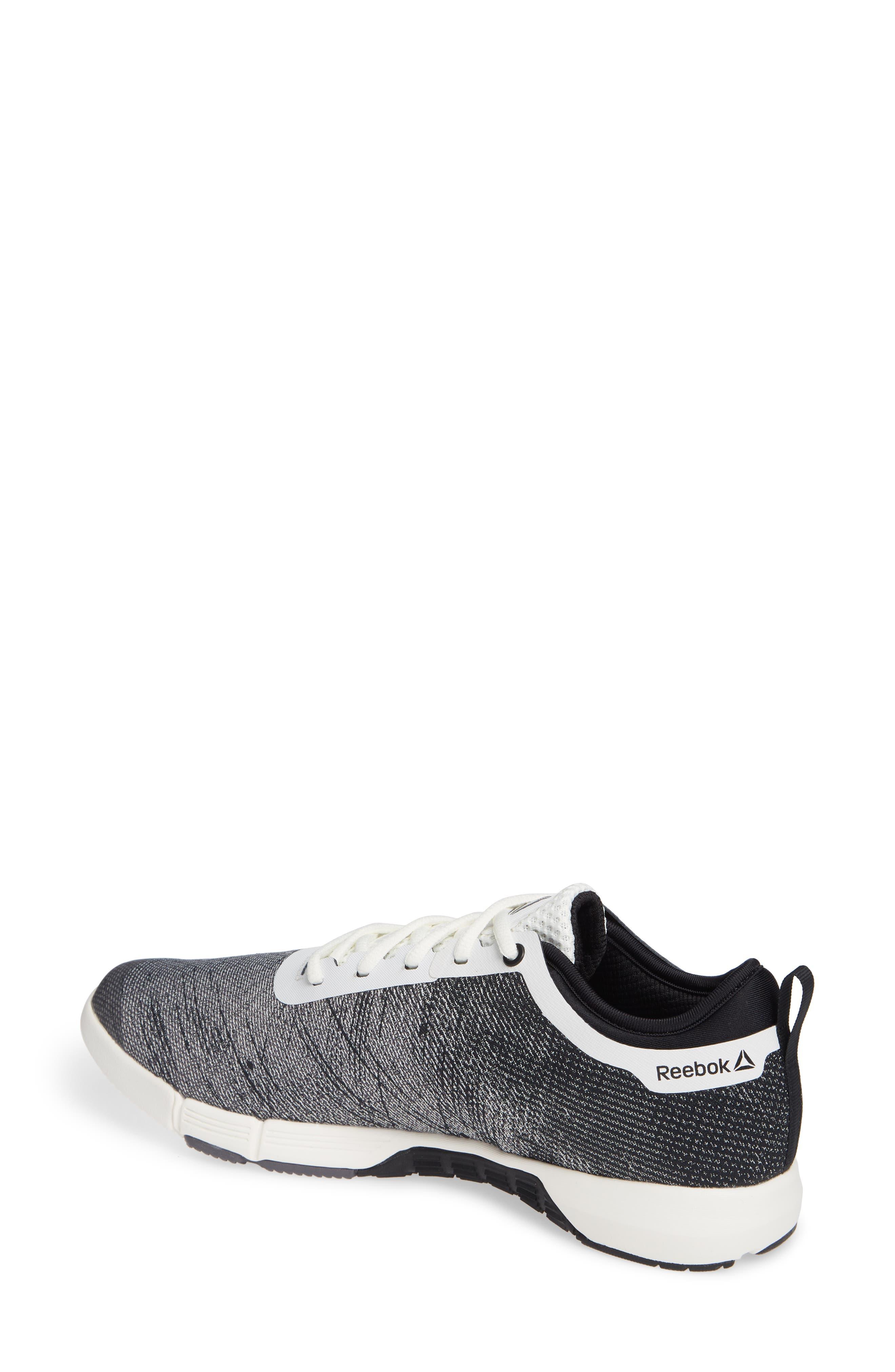 Speed Her TR Training Sneaker,                             Alternate thumbnail 2, color,                             CHALK/ BLACK/ ASH GREY