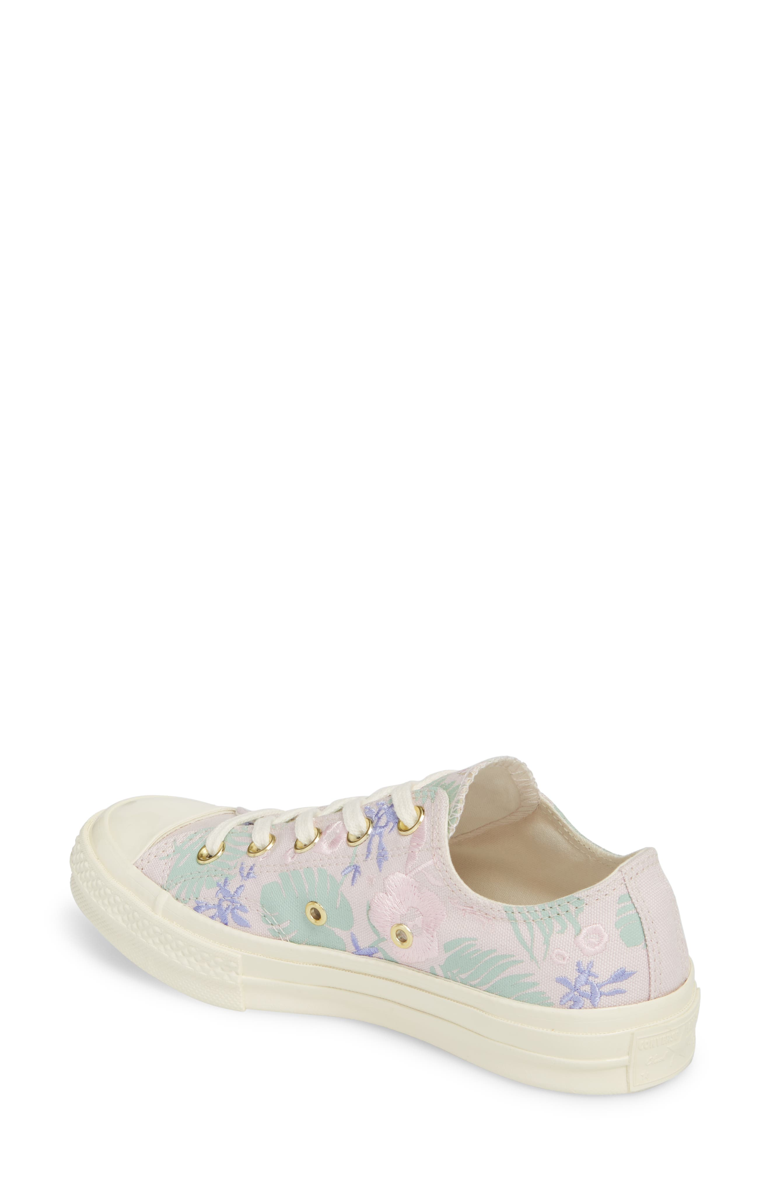 Chuck Taylor<sup>®</sup> All Star<sup>®</sup> 70 Palm Print Low Top Sneaker,                             Alternate thumbnail 2, color,                             658