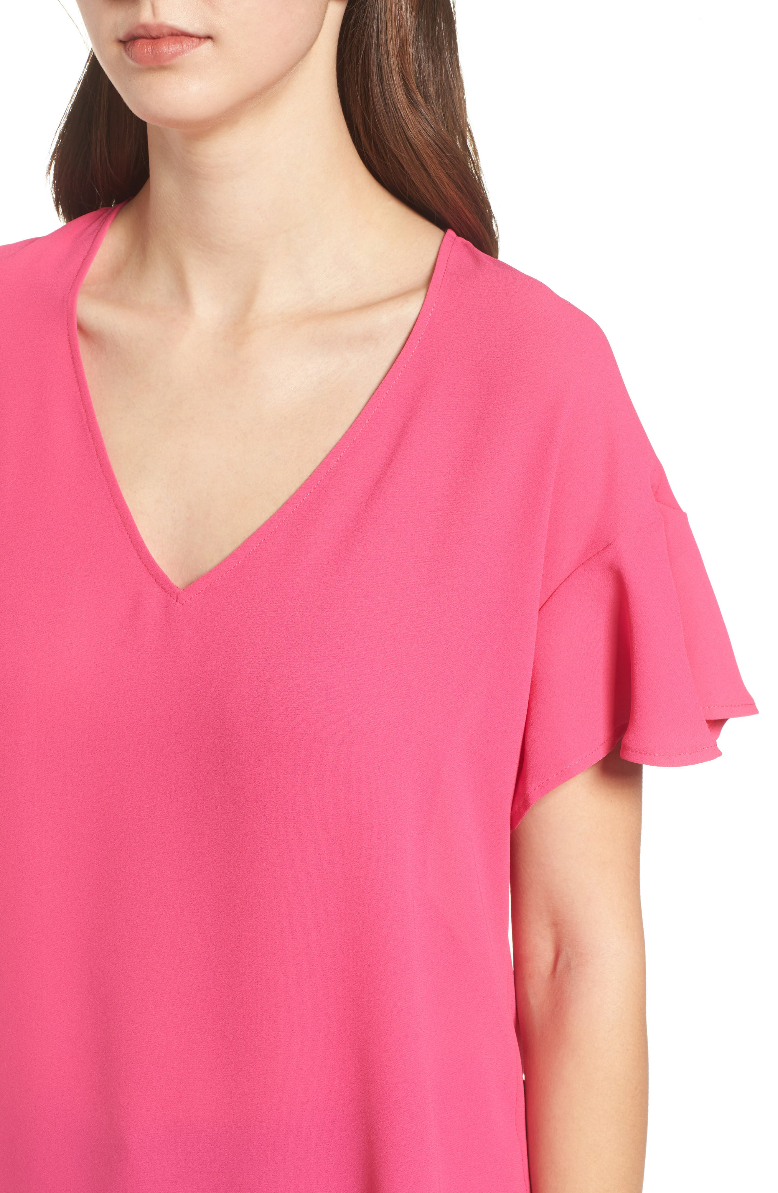 Crepe Tee,                             Alternate thumbnail 30, color,