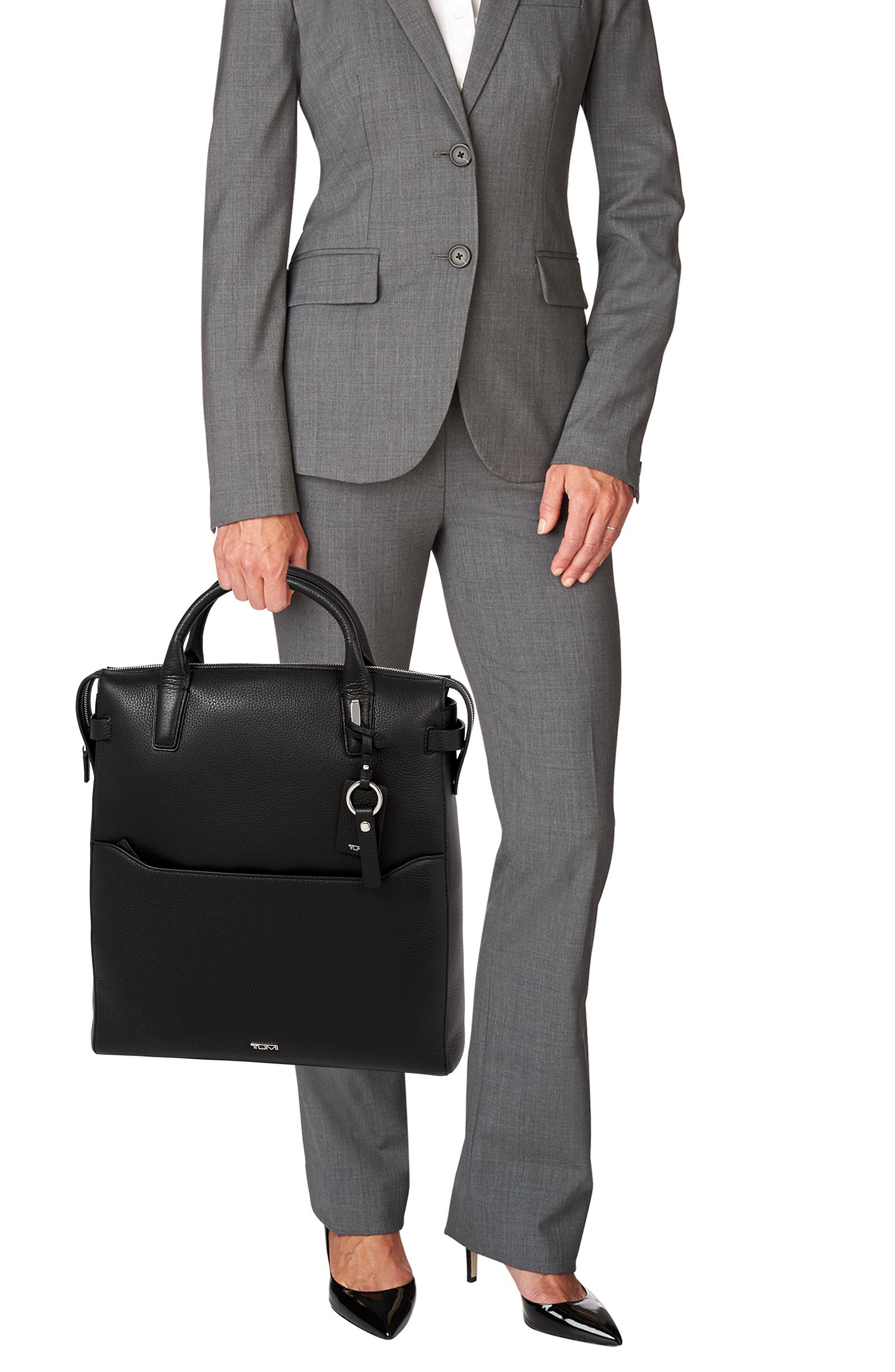 Stanton Stanton Safra Convertible Laptop Backpack/Tote,                             Alternate thumbnail 2, color,                             BLACK