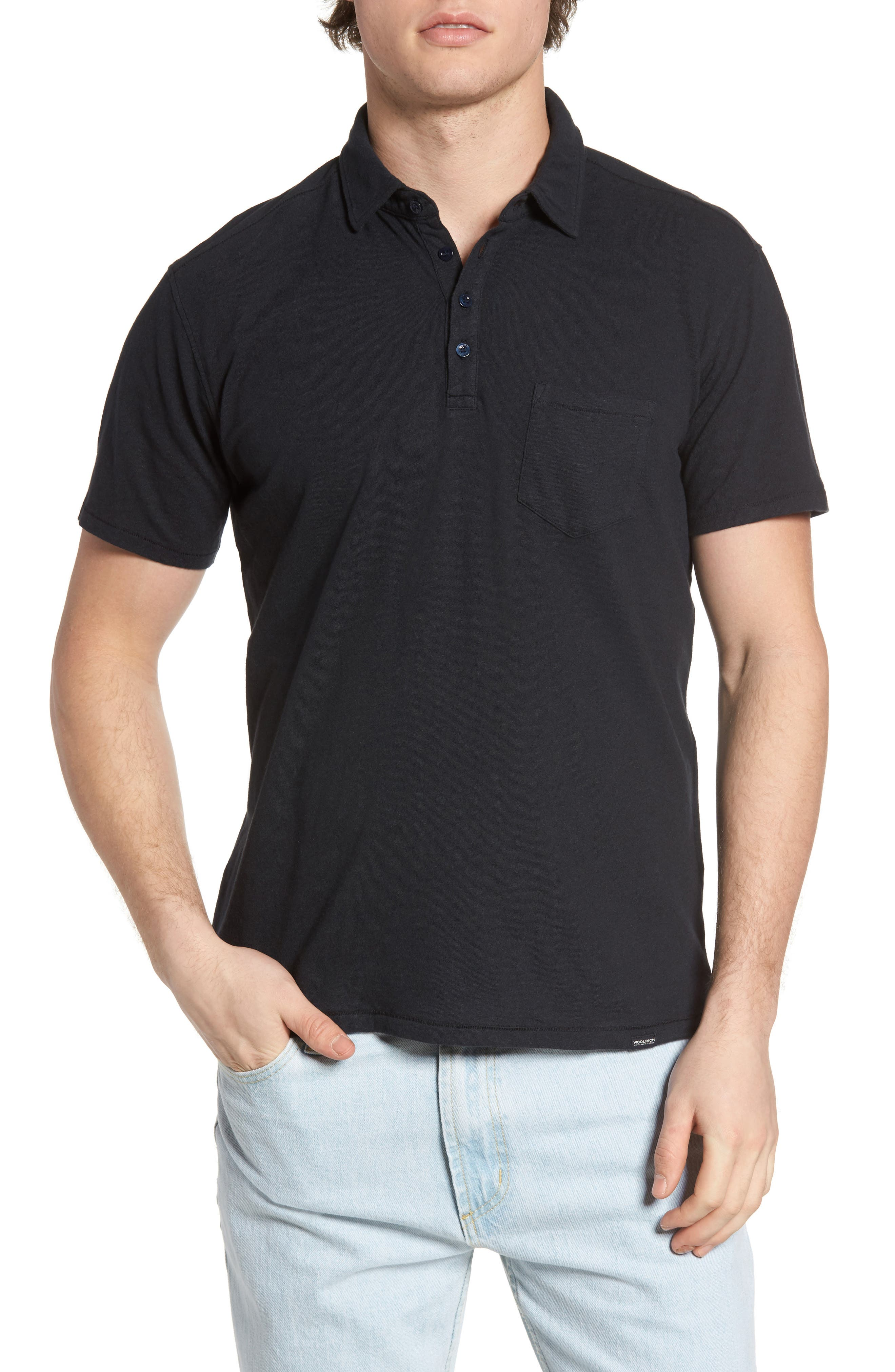 John Rich Jersey Polo,                         Main,                         color, 411