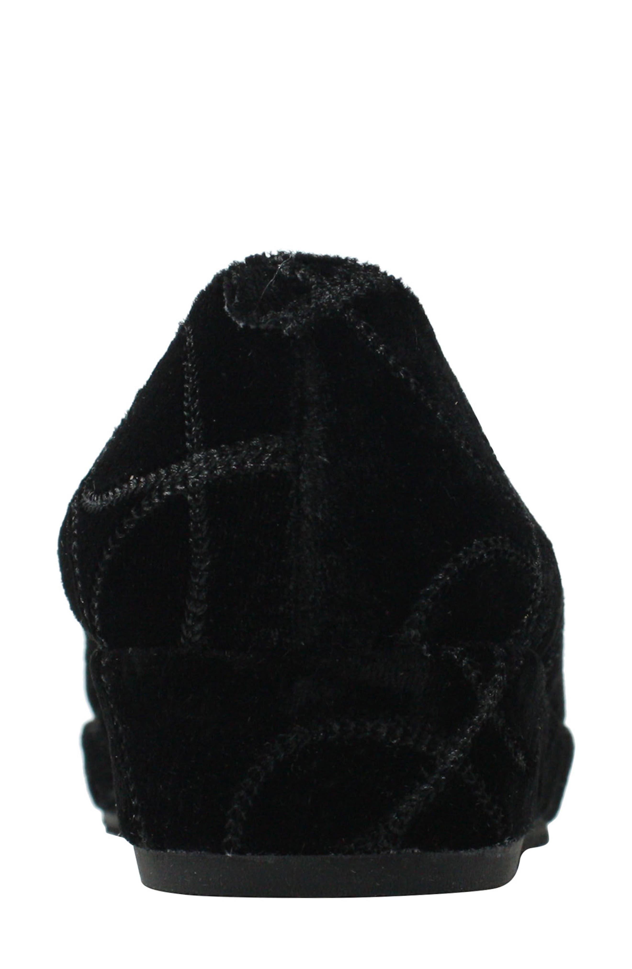 Carsoli Wedge Loafer,                             Alternate thumbnail 5, color,                             BLACK VELVET