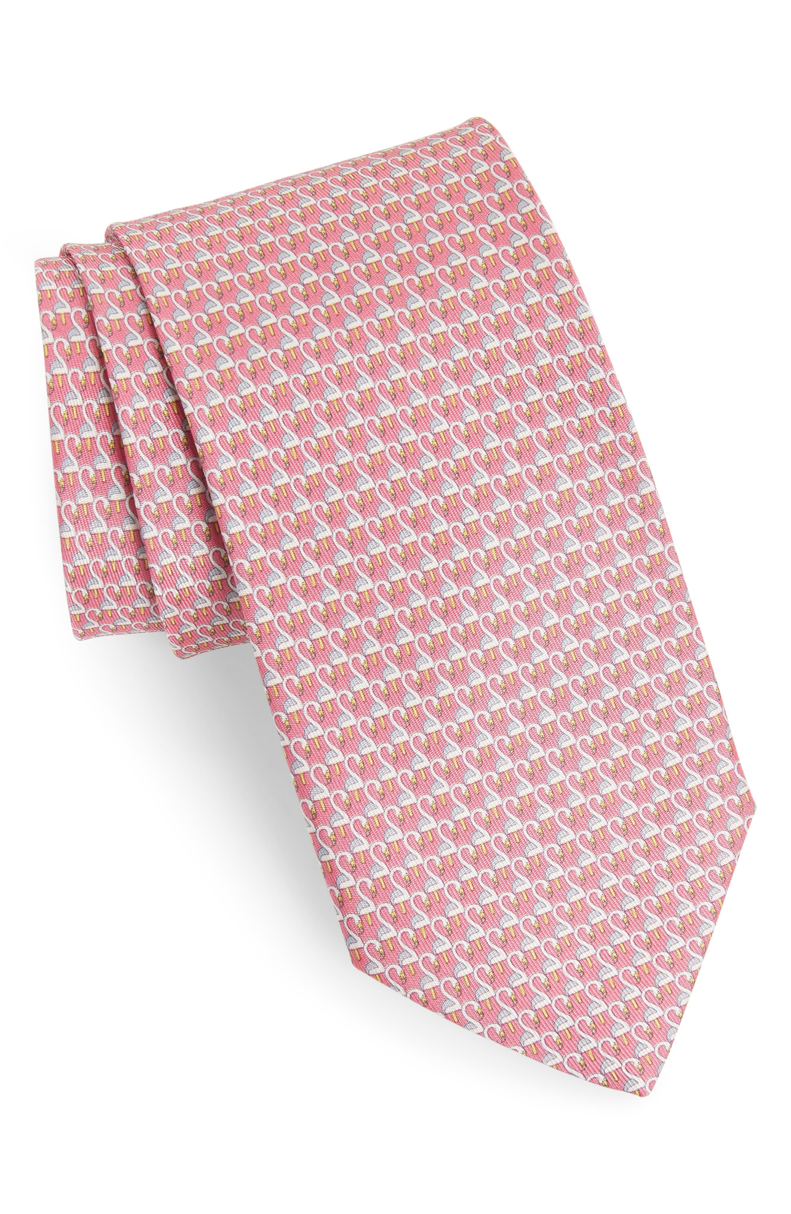 Ester Print Silk Tie,                             Main thumbnail 3, color,