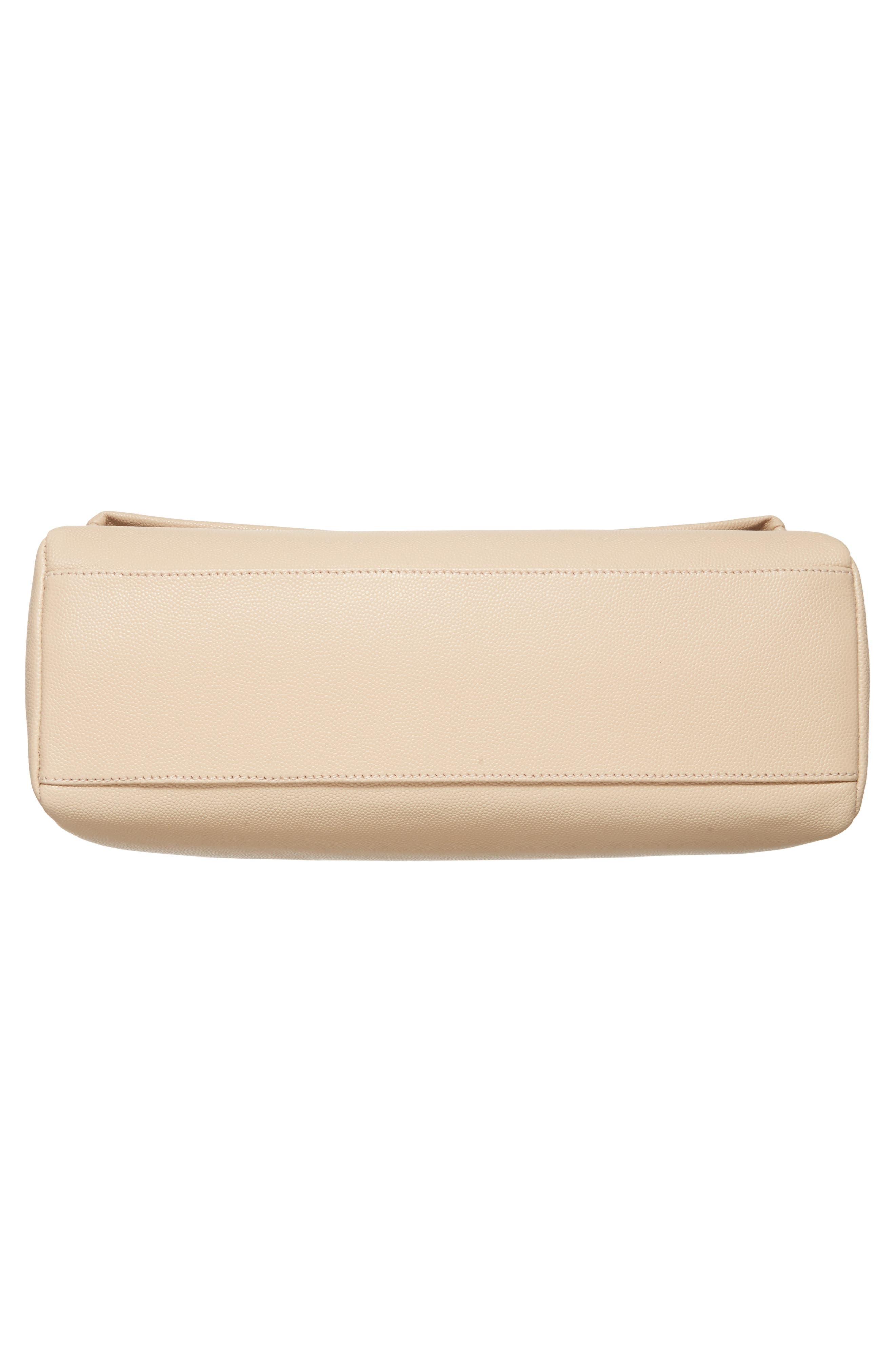 Medium West Hollywood Leather Shoulder Bag,                             Alternate thumbnail 18, color,