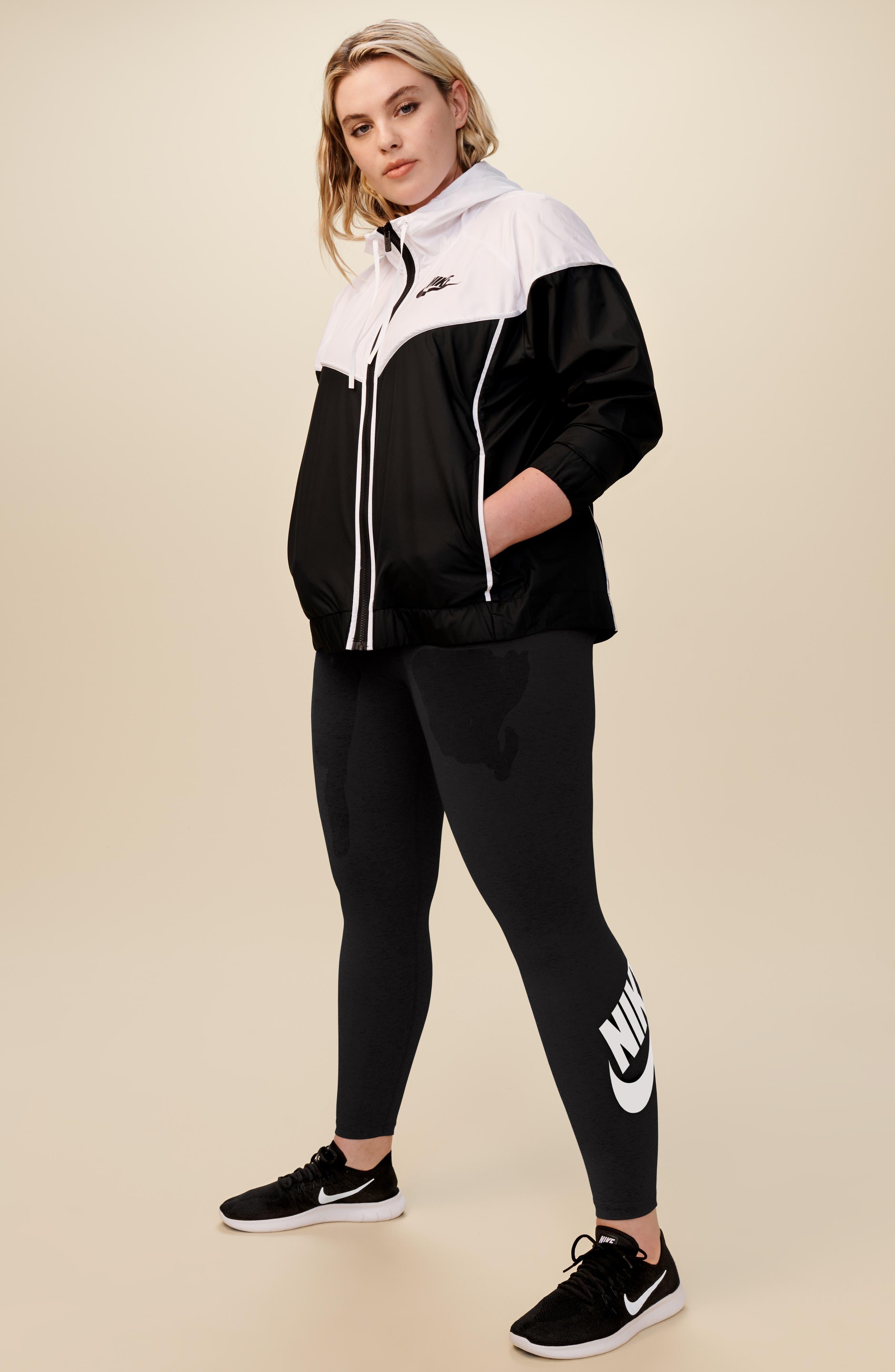 Sportswear Windrunner Jacket,                             Alternate thumbnail 3, color,                             SIGNAL BLUE/ CRIMSON TINT