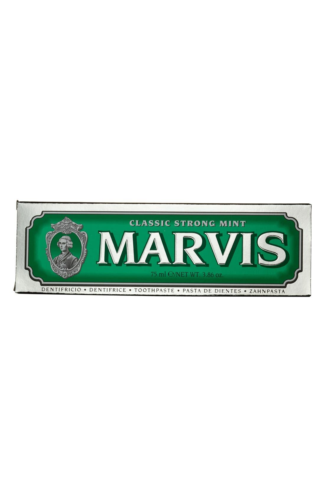 'Marvis' Mint Toothpaste,                             Alternate thumbnail 3, color,                             CLASSIC STRONG MINT