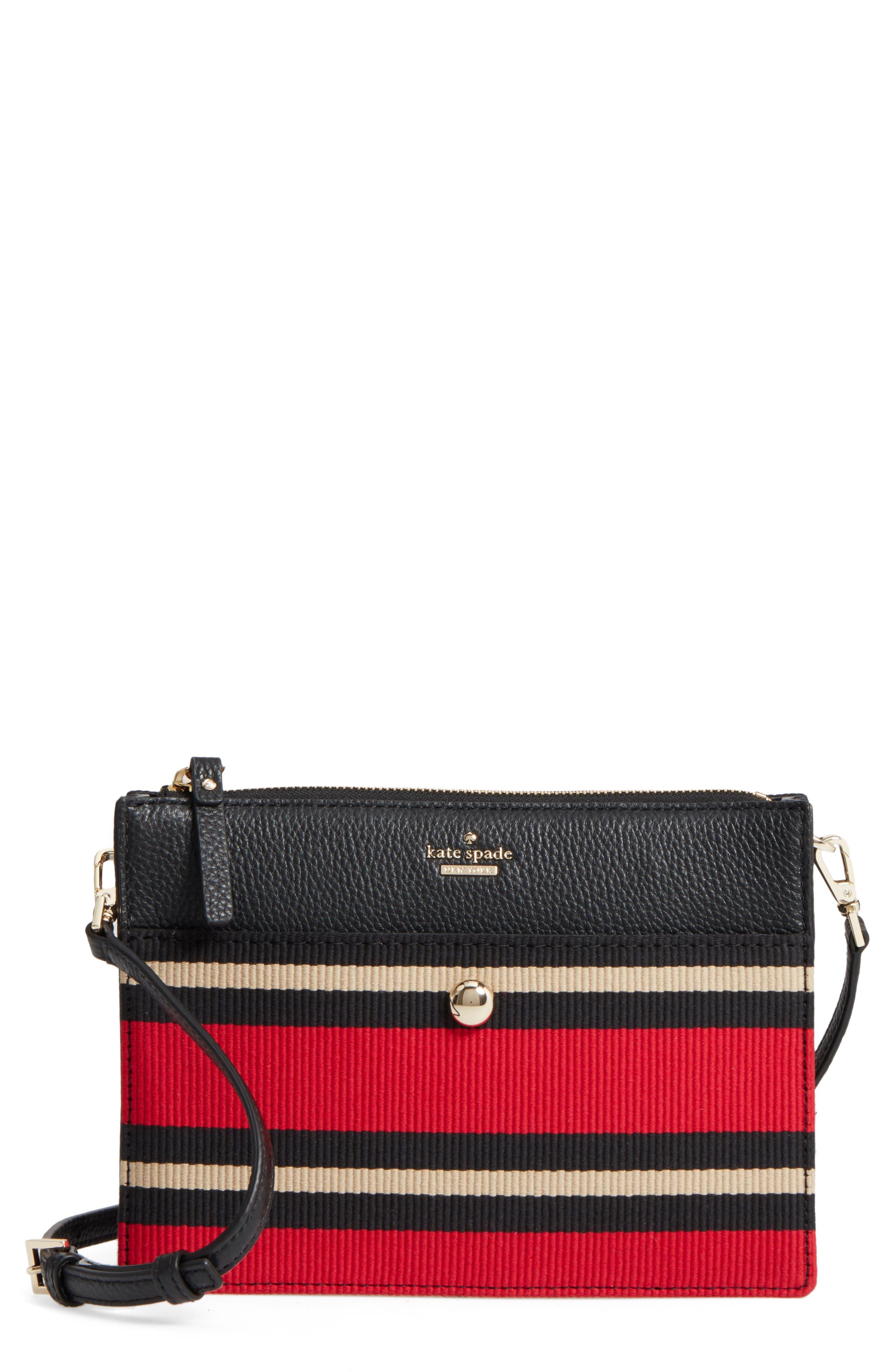 steward street clarise grosgrain stripe shoulder bag,                         Main,                         color, 600