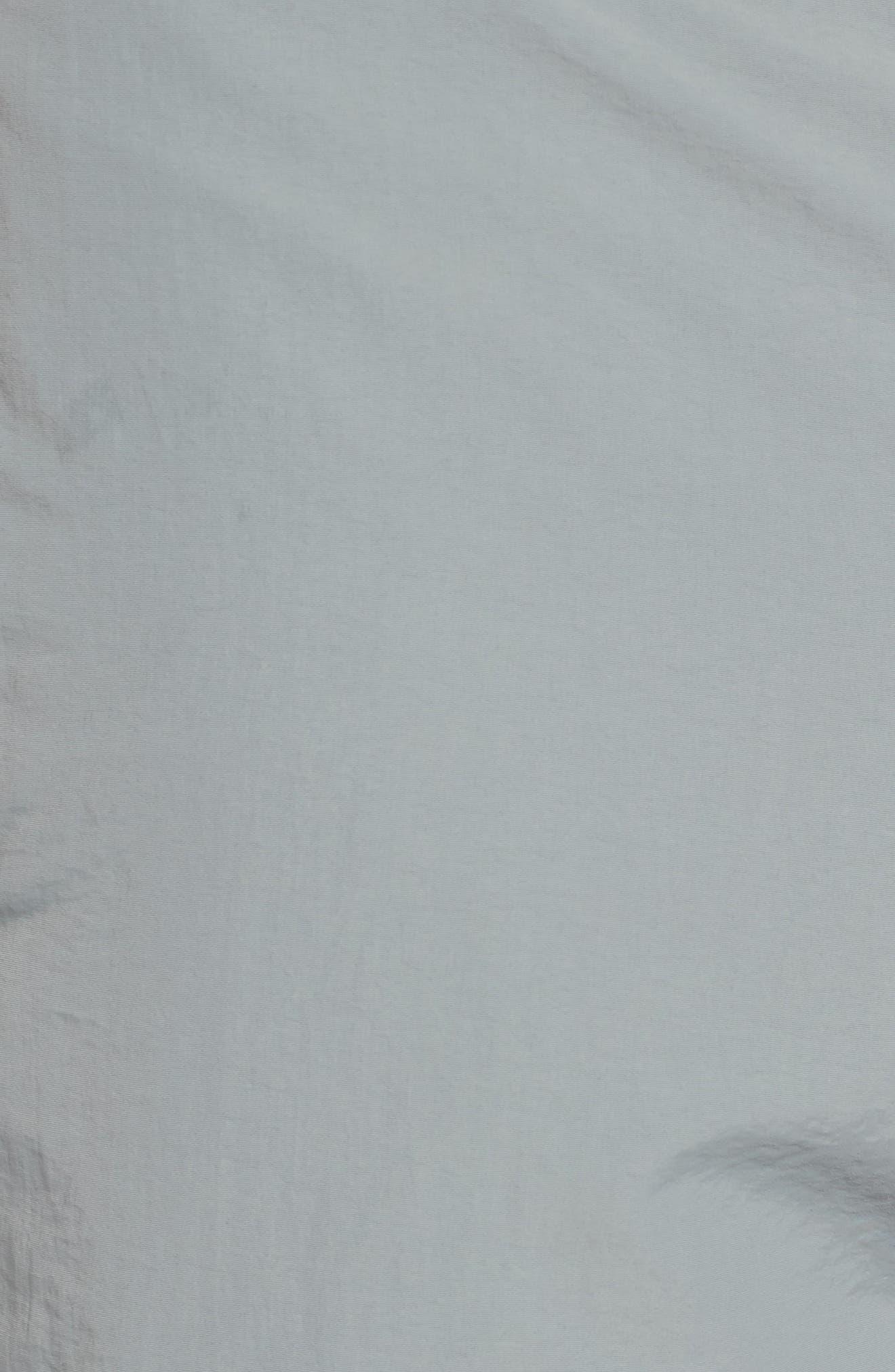 Aruba Tailored Fit French Stripe Swim Trunks,                             Alternate thumbnail 9, color,