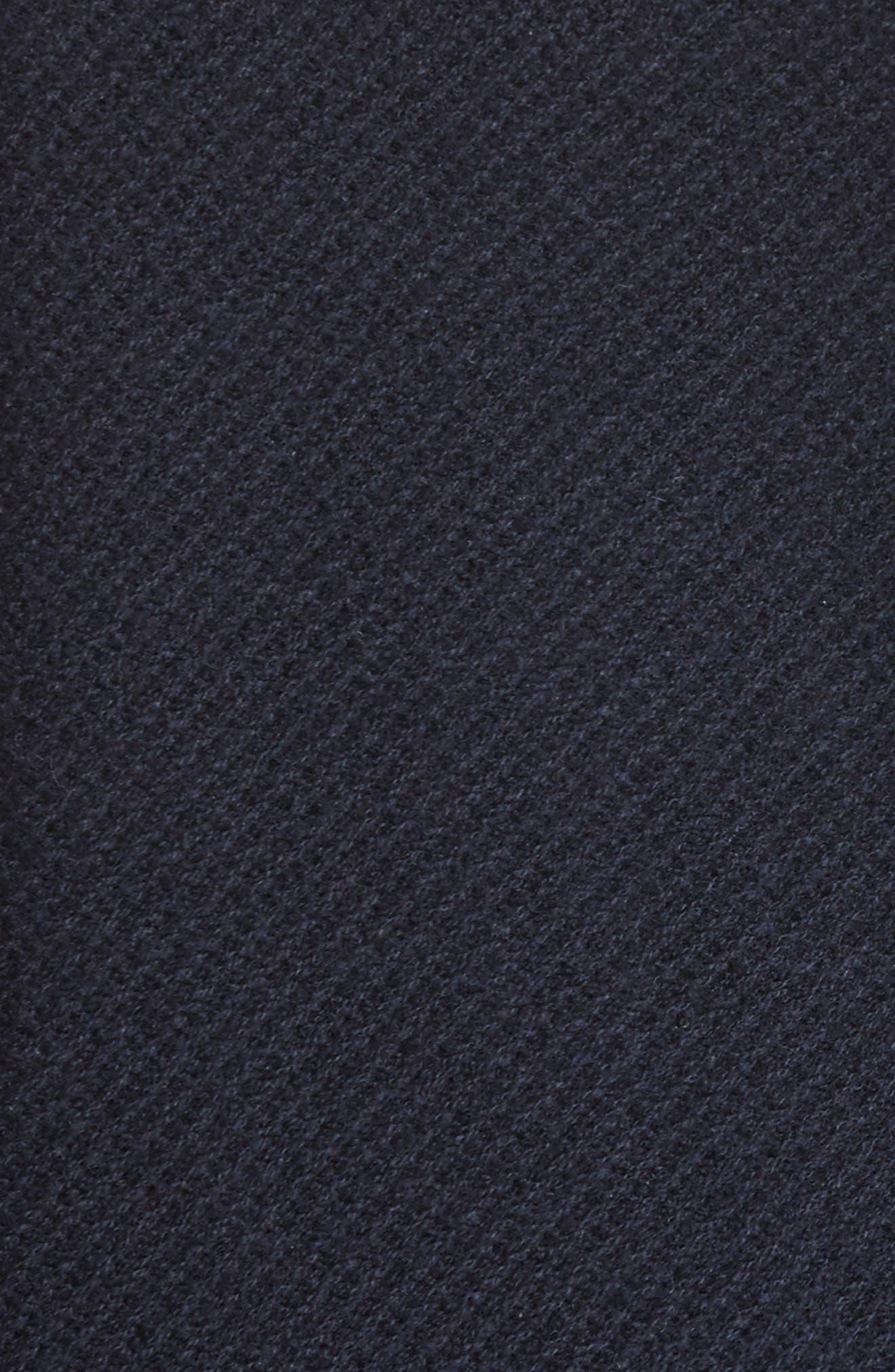 Windowpane Wool & Cashmere Sweater,                             Alternate thumbnail 5, color,                             400