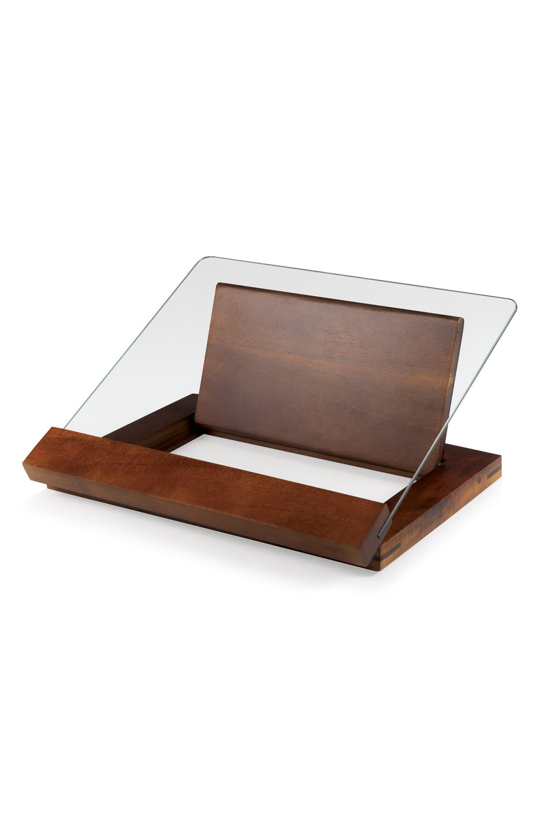 'Legacy Heritage Collection by Fabio Viviani - Prodigio' Recipe Stand,                             Main thumbnail 1, color,                             BROWN