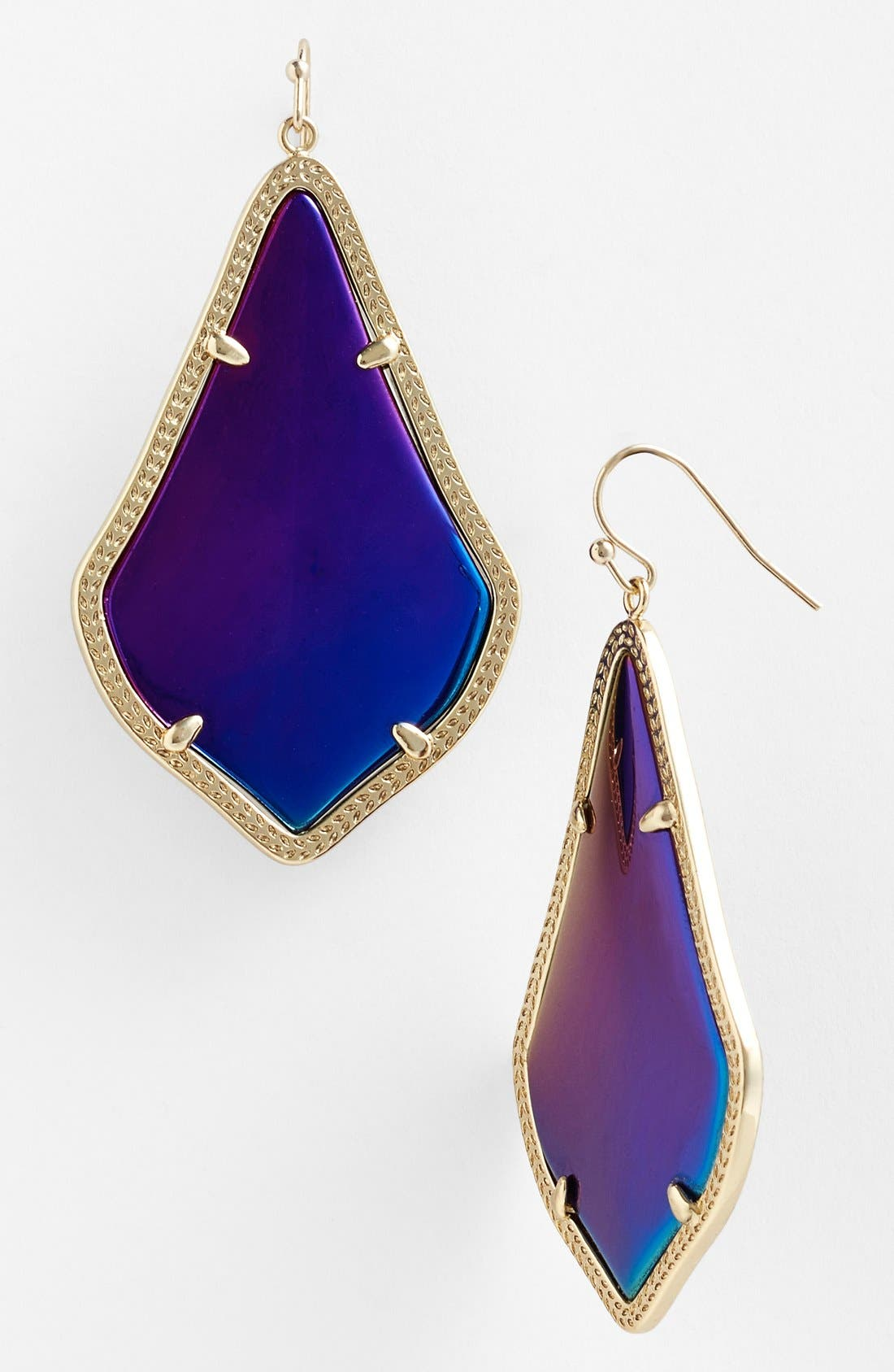 'Alexandra' Large Drop Earrings,                             Main thumbnail 1, color,                             001