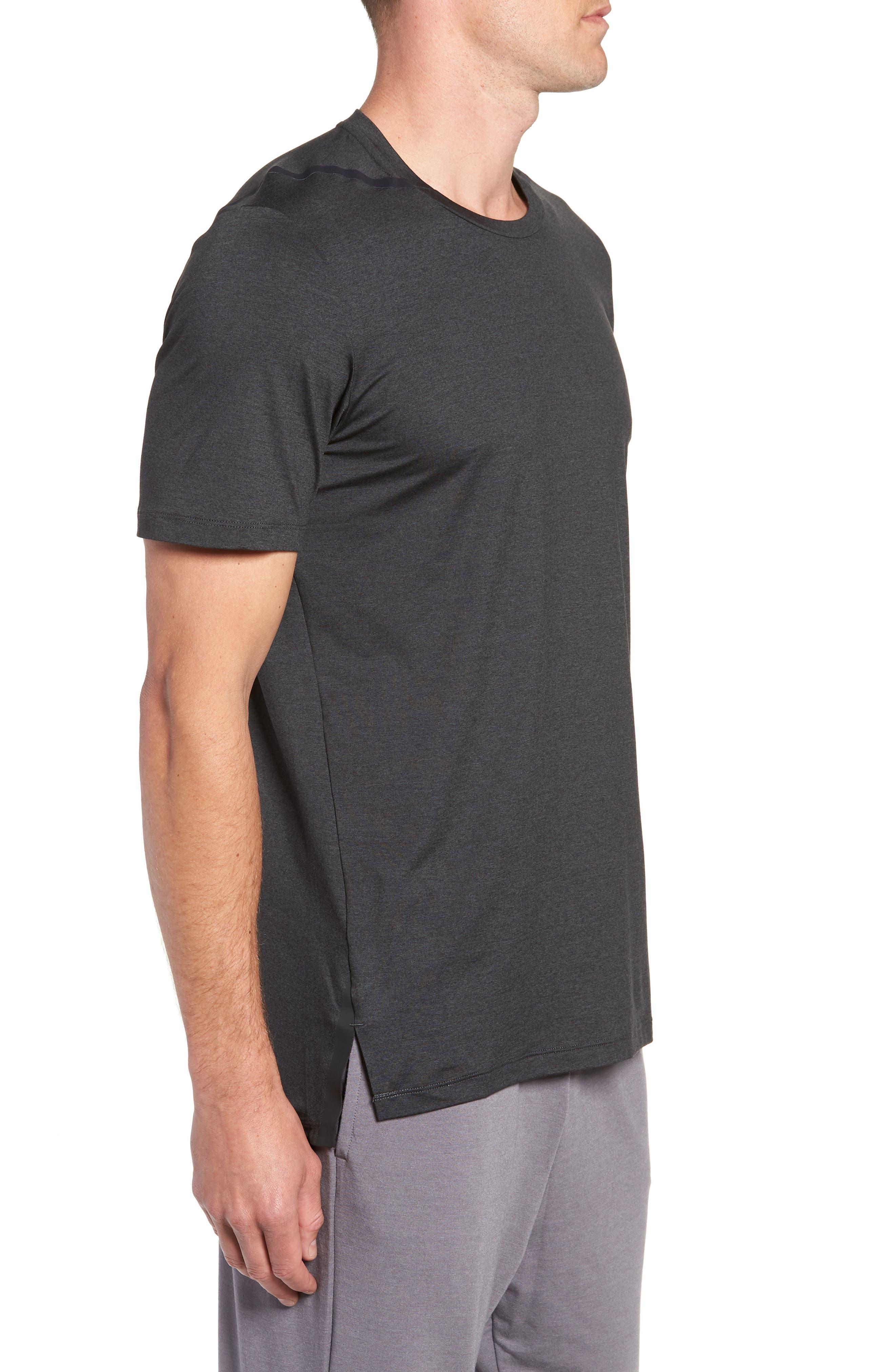 Dry Max Training T-Shirt,                             Alternate thumbnail 3, color,                             BLACK/ ANTHRACITE/ COBALT