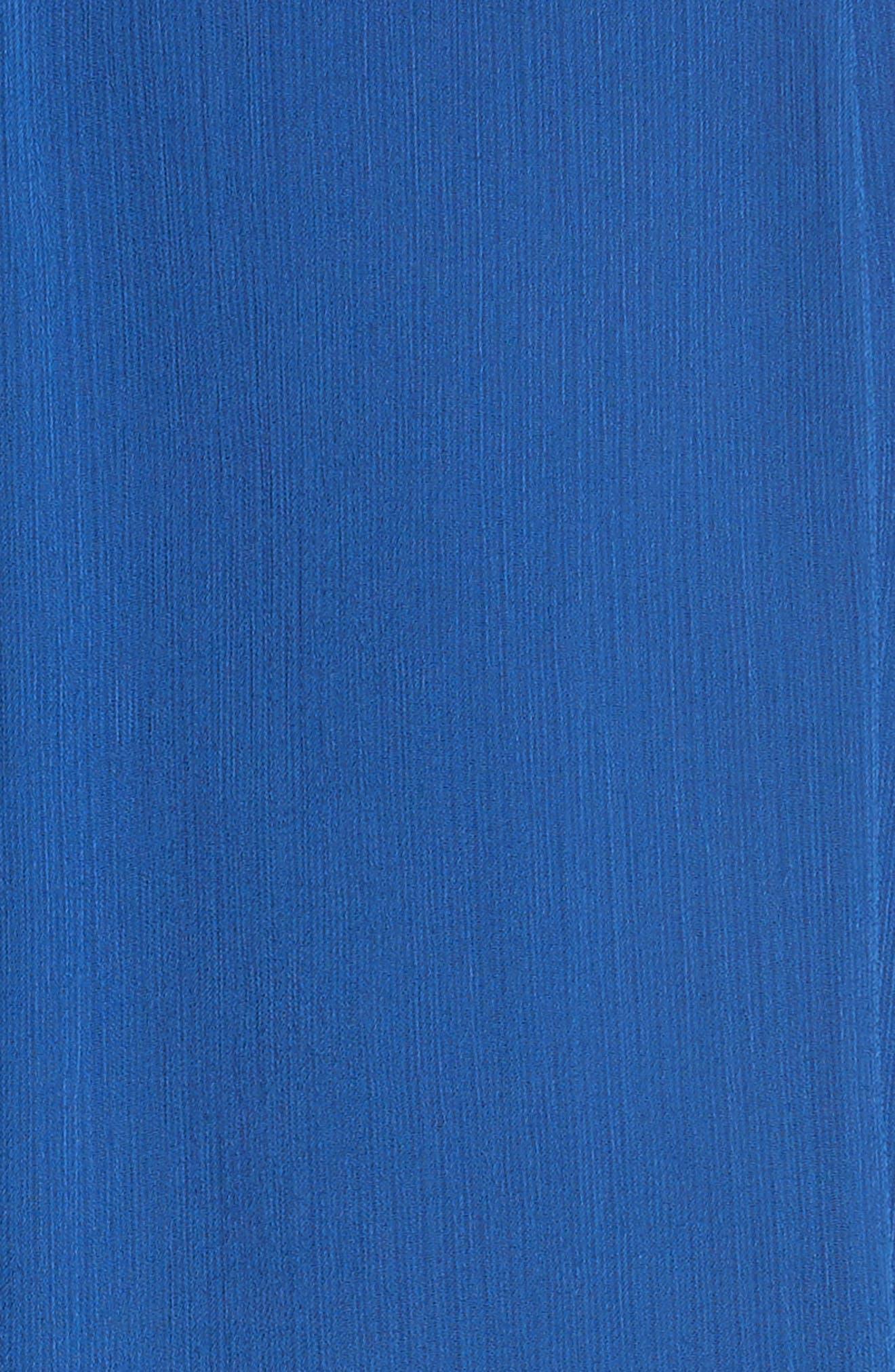 Adaline Smocked Waist Minidress,                             Alternate thumbnail 5, color,                             400