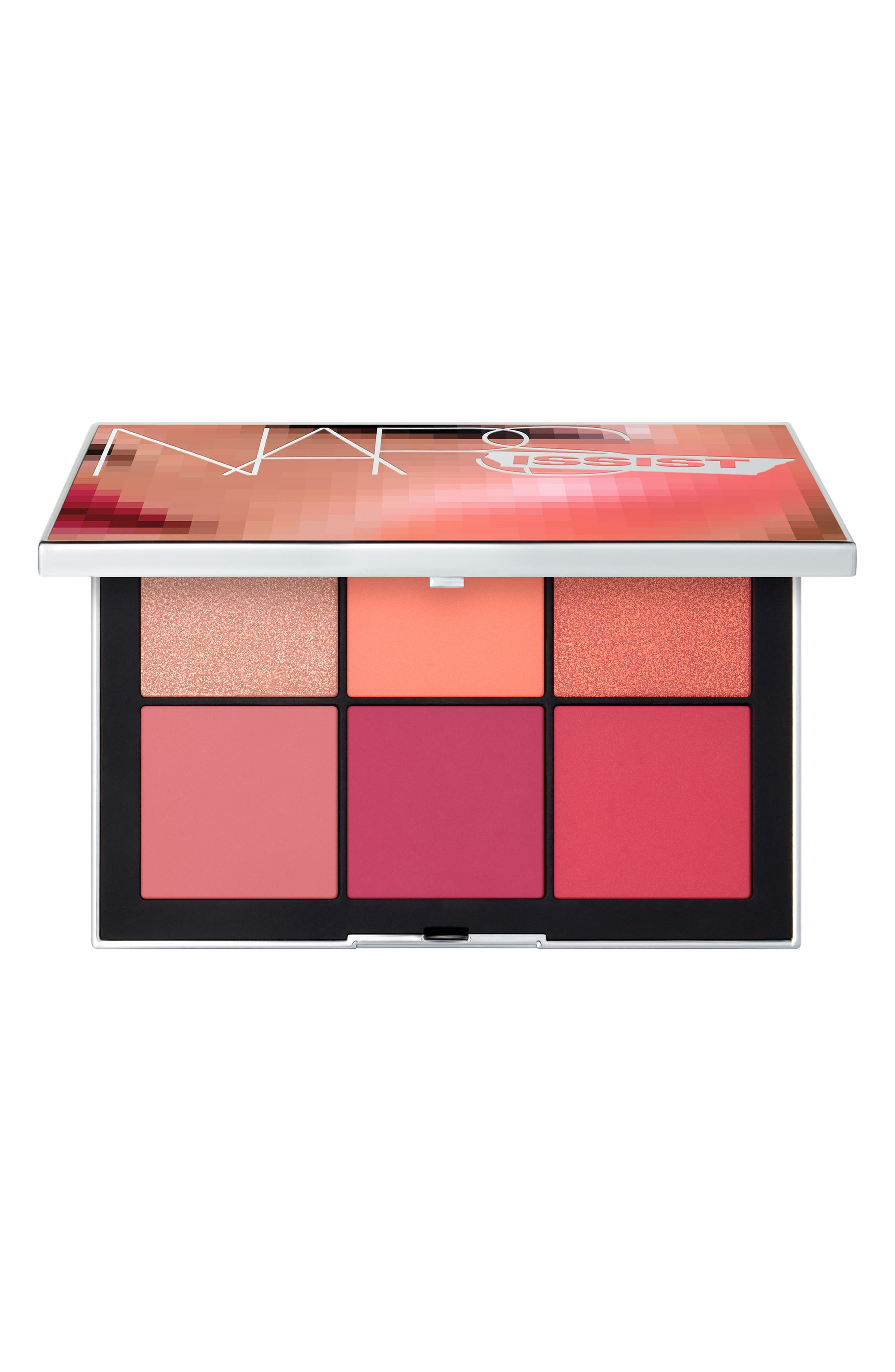 NARSissist Wanted Cheek Palette II,                             Main thumbnail 1, color,                             MEDIUM TO DARK