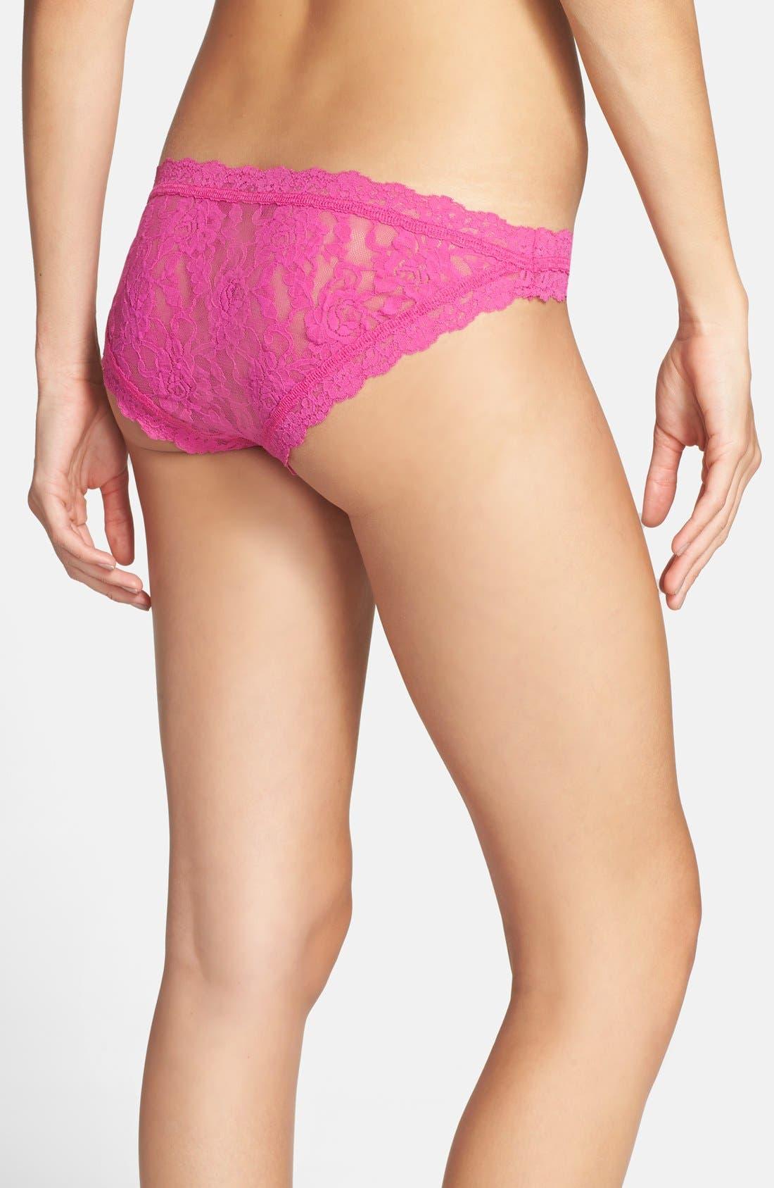 'Signature Lace' Brazilian Bikini,                             Alternate thumbnail 56, color,