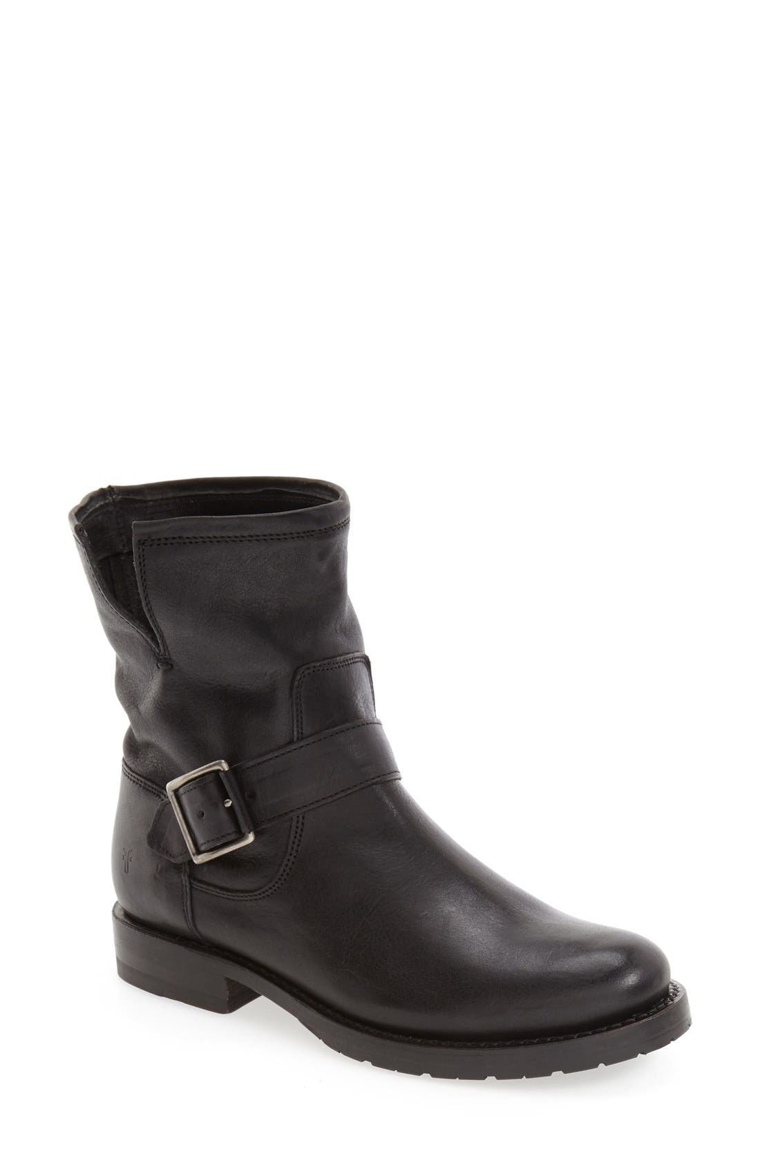 'Natalie' Engineer Boot,                         Main,                         color, 001