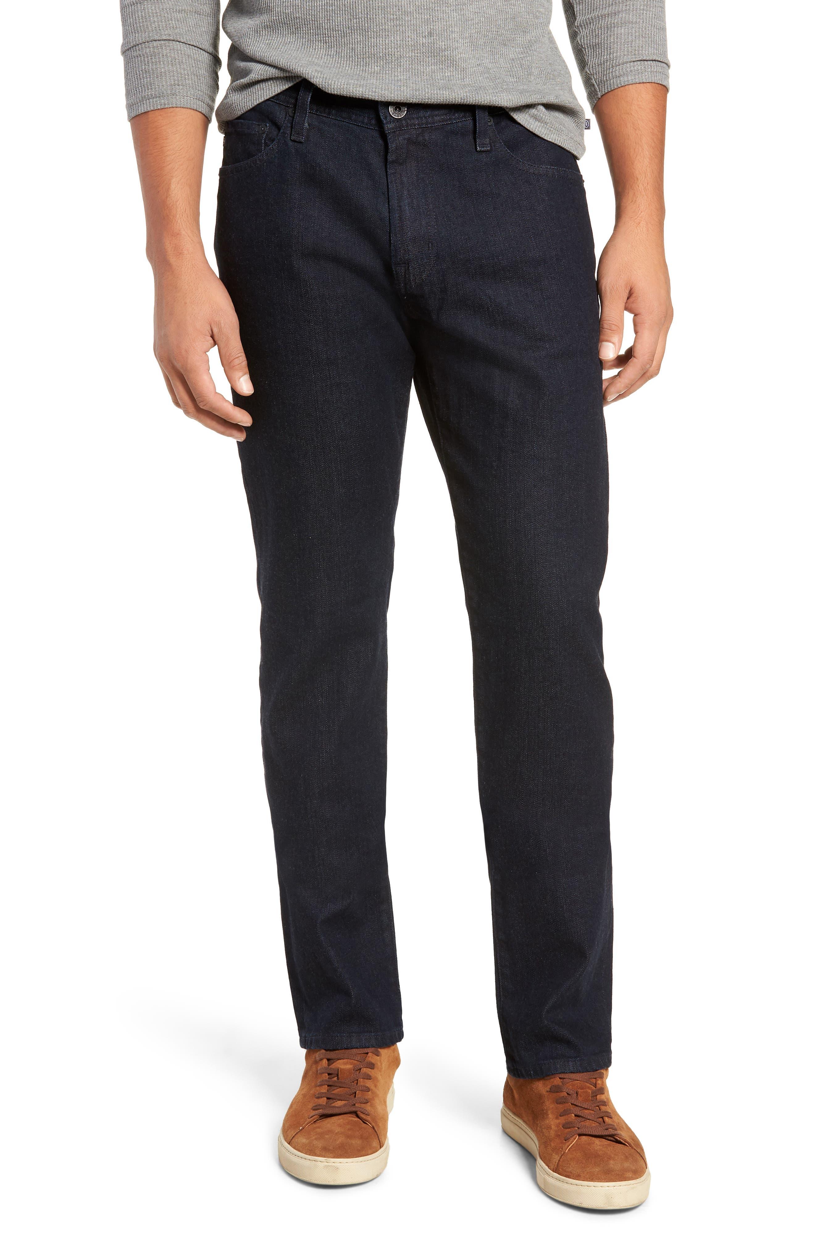 Graduate Slim Straight Leg Jeans,                             Main thumbnail 1, color,                             STELLAR